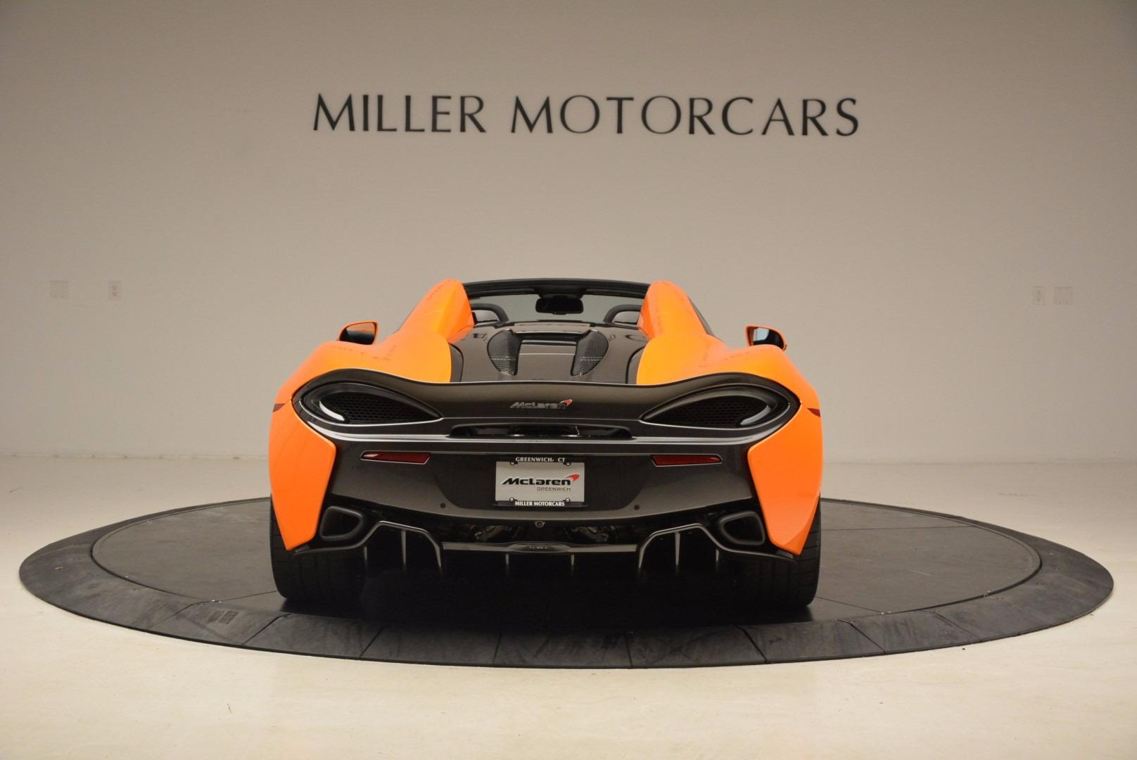 New 2018 McLaren 570S Spider  For Sale In Greenwich, CT. Alfa Romeo of Greenwich, MC315 1580_p6