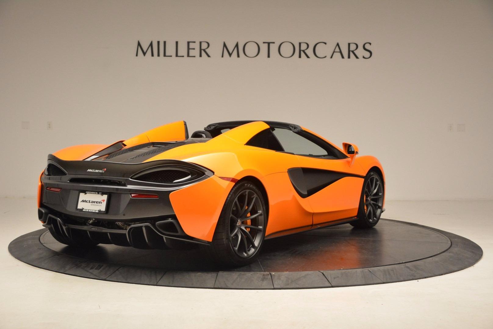 New 2018 McLaren 570S Spider  For Sale In Greenwich, CT. Alfa Romeo of Greenwich, MC315 1580_p7