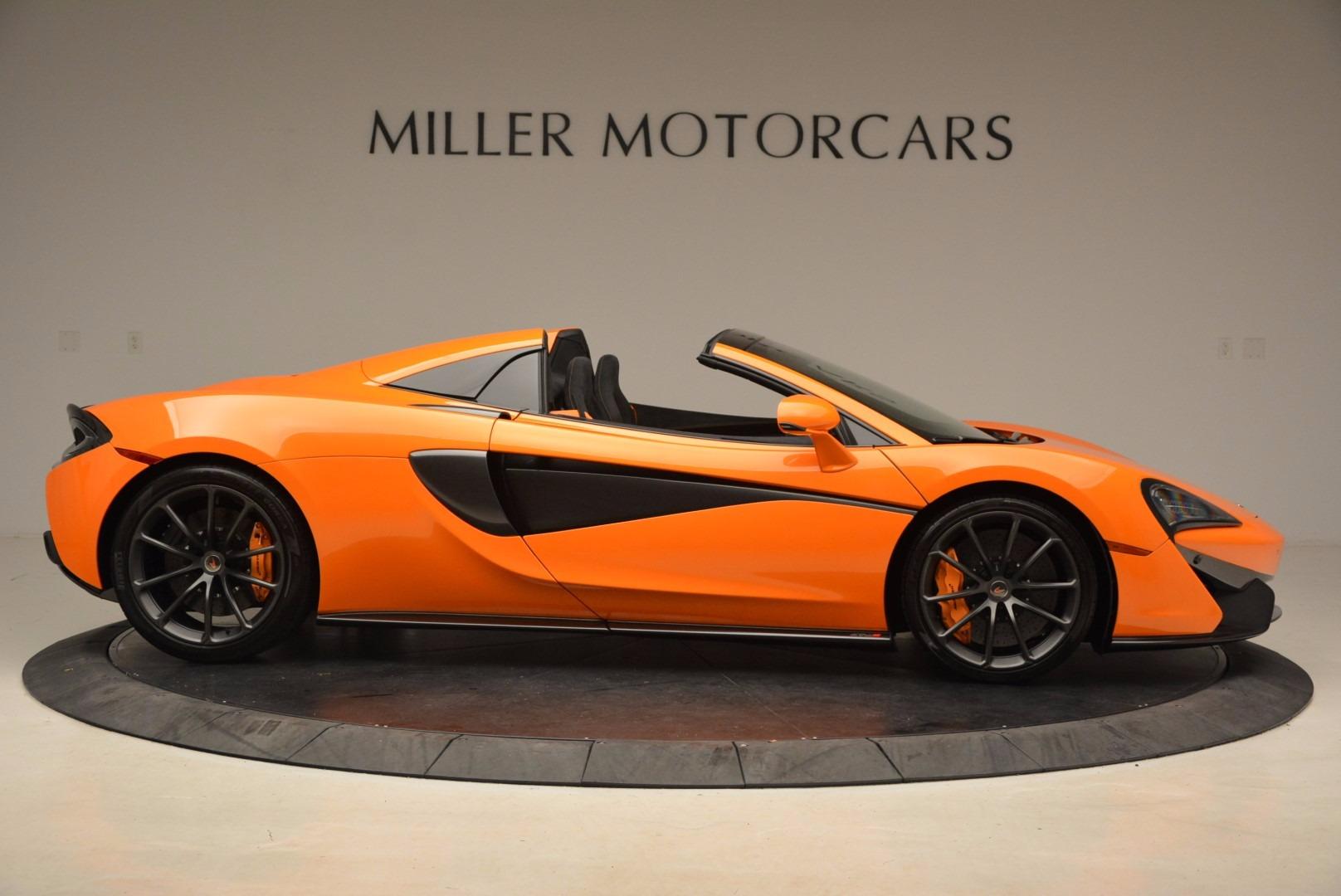 New 2018 McLaren 570S Spider  For Sale In Greenwich, CT. Alfa Romeo of Greenwich, MC315 1580_p9