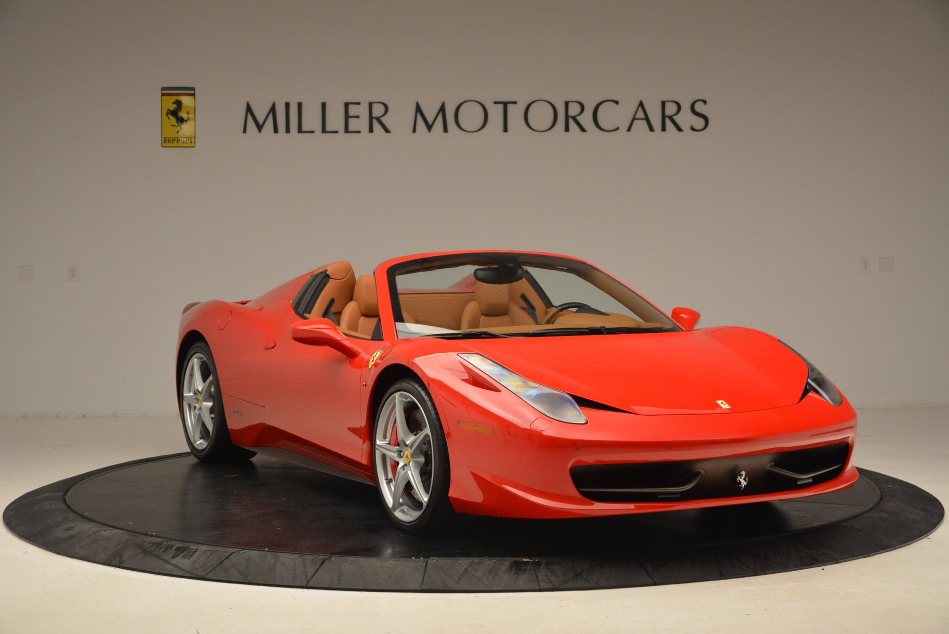 Used 2012 Ferrari 458 Spider  For Sale In Greenwich, CT. Alfa Romeo of Greenwich, 4594 1581_p11
