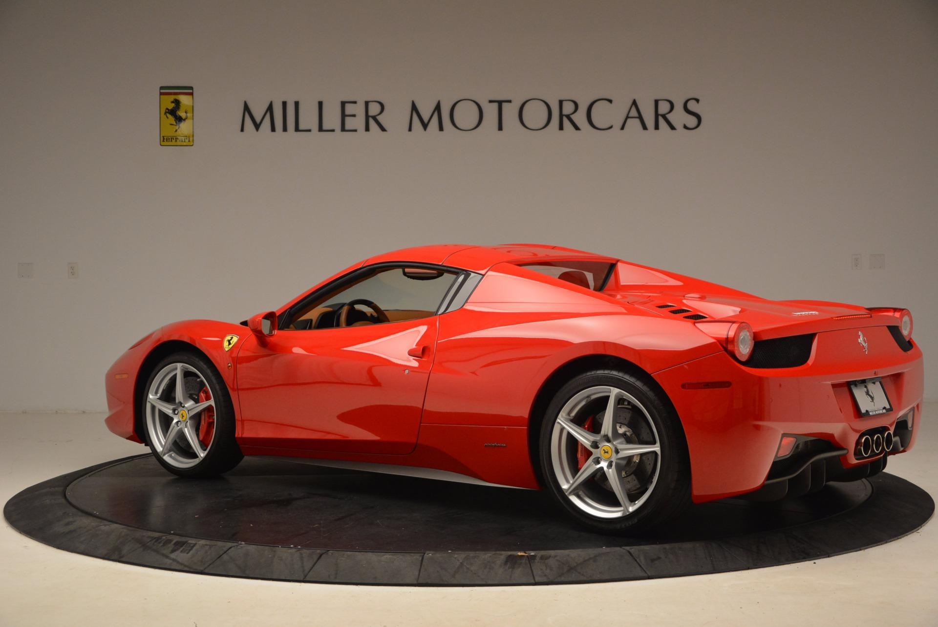 Used 2012 Ferrari 458 Spider  For Sale In Greenwich, CT. Alfa Romeo of Greenwich, 4594 1581_p16