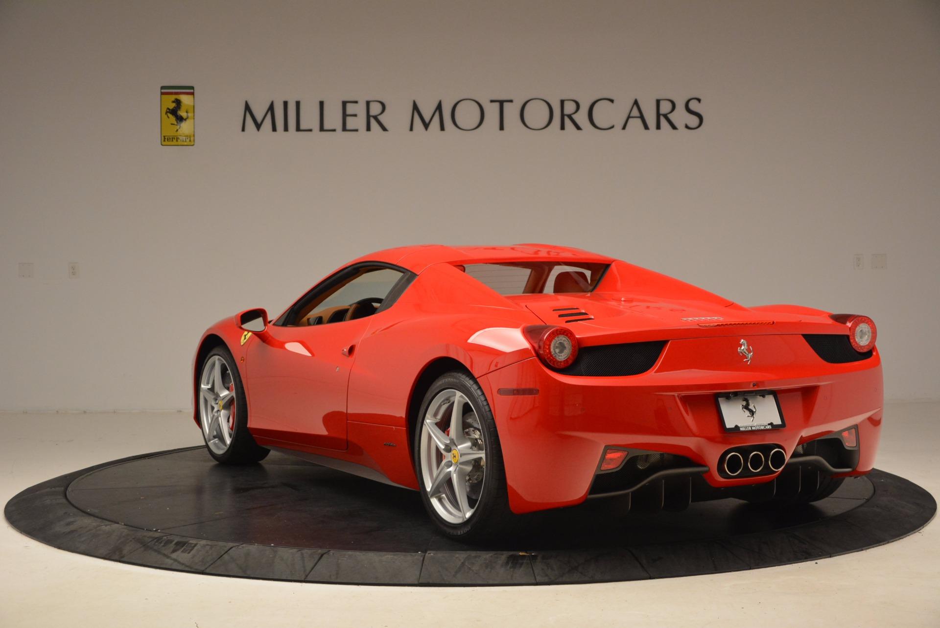 Used 2012 Ferrari 458 Spider  For Sale In Greenwich, CT. Alfa Romeo of Greenwich, 4594 1581_p17