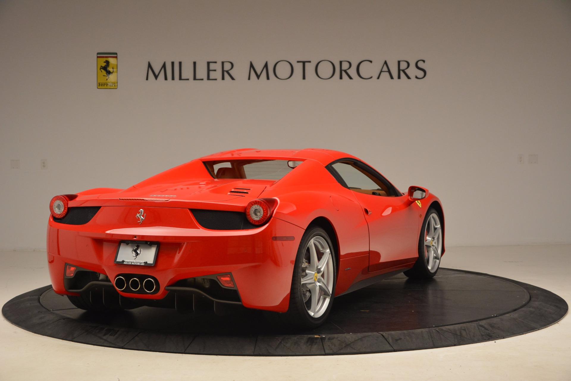 Used 2012 Ferrari 458 Spider  For Sale In Greenwich, CT. Alfa Romeo of Greenwich, 4594 1581_p19
