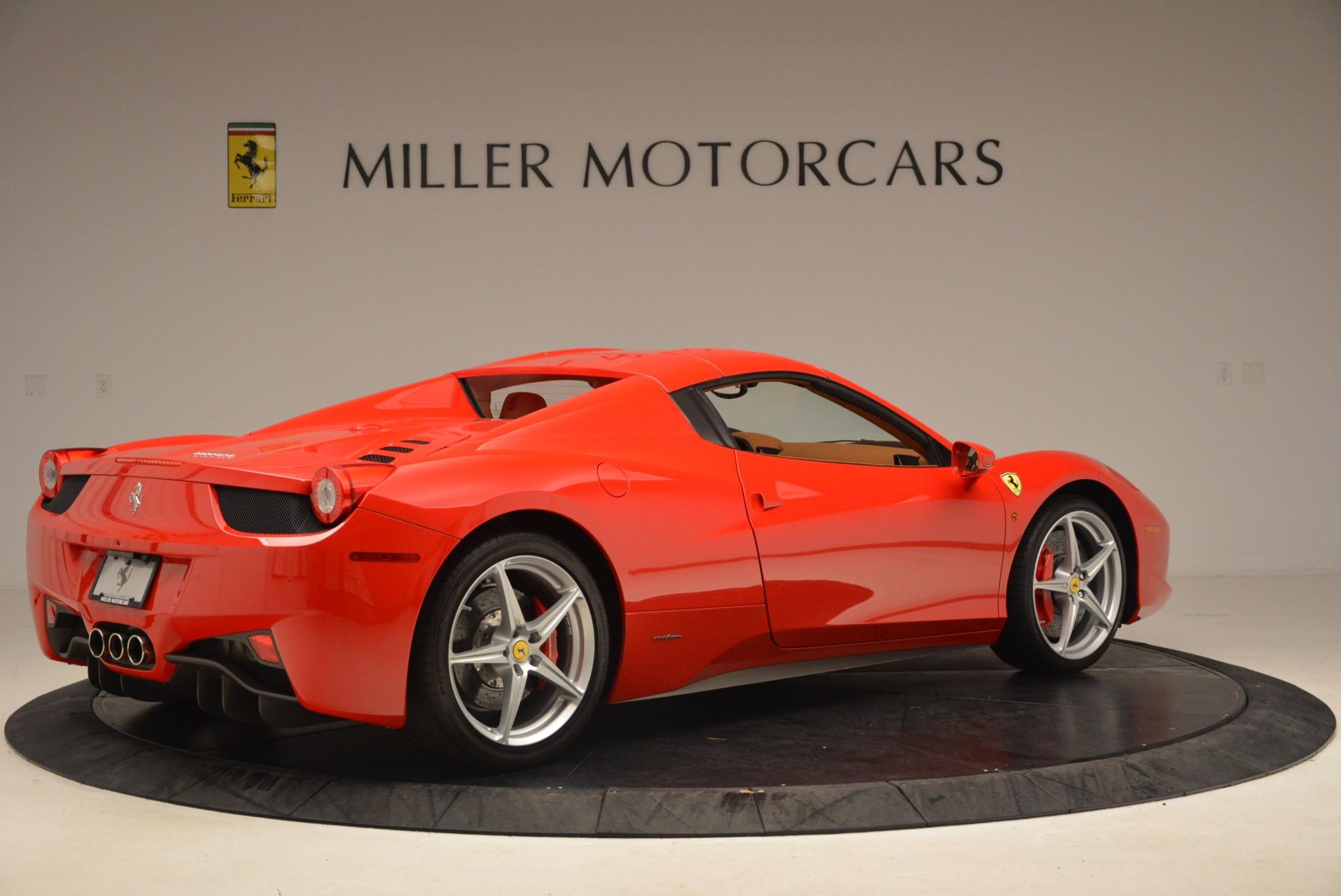 Used 2012 Ferrari 458 Spider  For Sale In Greenwich, CT. Alfa Romeo of Greenwich, 4594 1581_p20