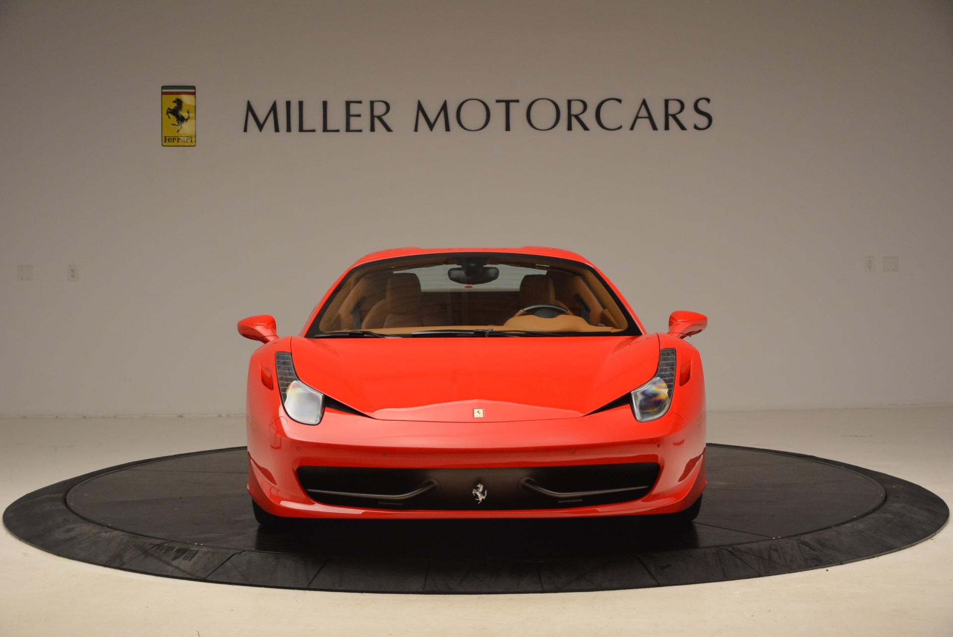 Used 2012 Ferrari 458 Spider  For Sale In Greenwich, CT. Alfa Romeo of Greenwich, 4594 1581_p24