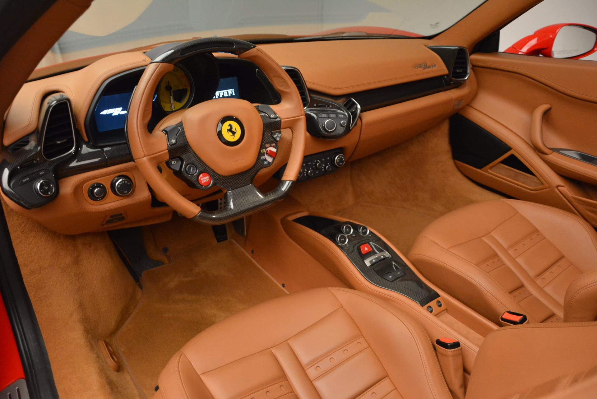 Used 2012 Ferrari 458 Spider  For Sale In Greenwich, CT. Alfa Romeo of Greenwich, 4594 1581_p25