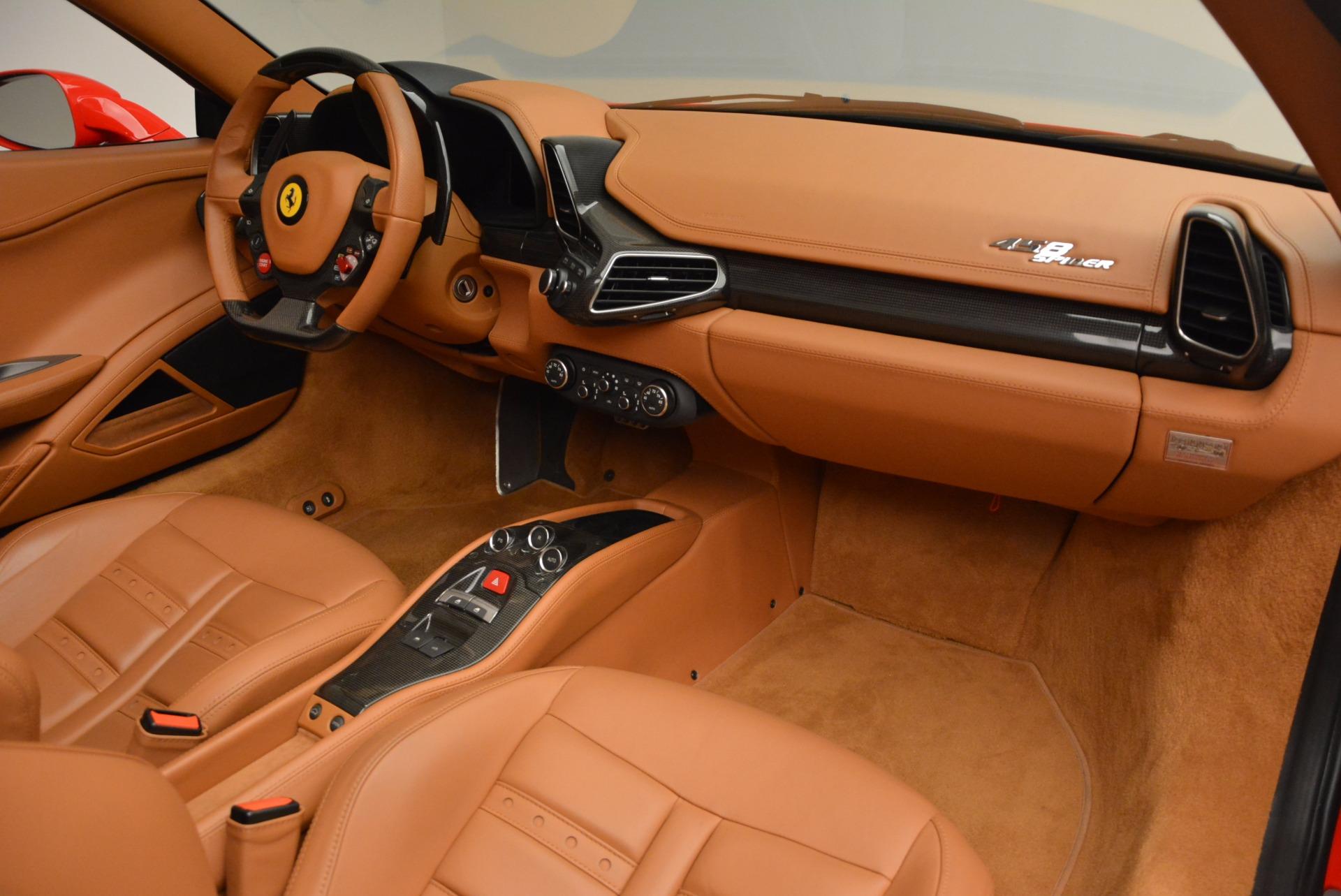 Used 2012 Ferrari 458 Spider  For Sale In Greenwich, CT. Alfa Romeo of Greenwich, 4594 1581_p29