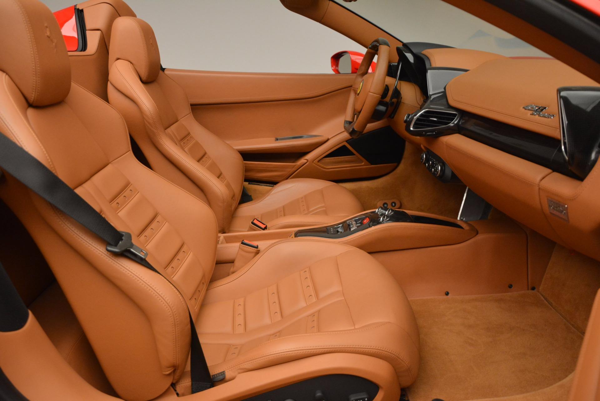 Used 2012 Ferrari 458 Spider  For Sale In Greenwich, CT. Alfa Romeo of Greenwich, 4594 1581_p30