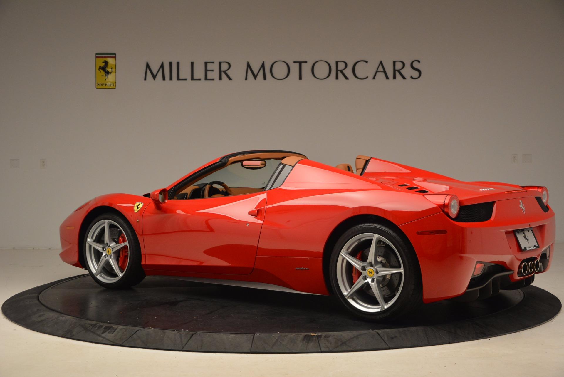 Used 2012 Ferrari 458 Spider  For Sale In Greenwich, CT. Alfa Romeo of Greenwich, 4594 1581_p4