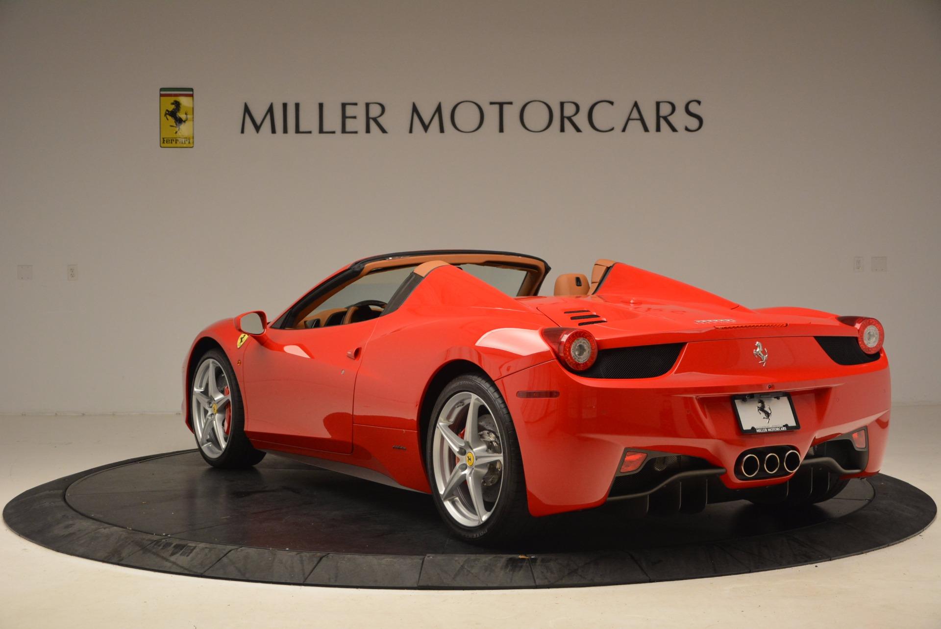 Used 2012 Ferrari 458 Spider  For Sale In Greenwich, CT. Alfa Romeo of Greenwich, 4594 1581_p5