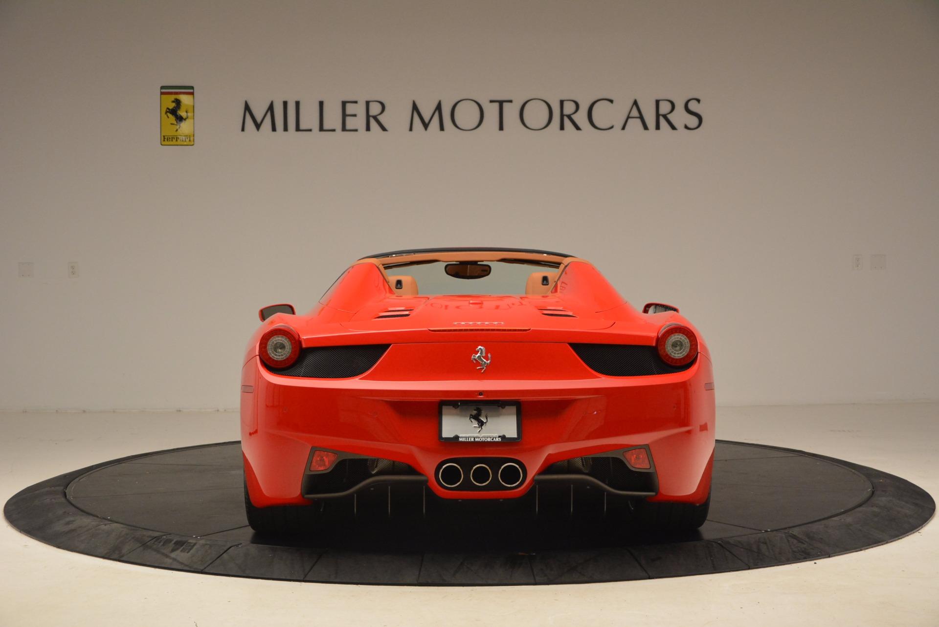 Used 2012 Ferrari 458 Spider  For Sale In Greenwich, CT. Alfa Romeo of Greenwich, 4594 1581_p6