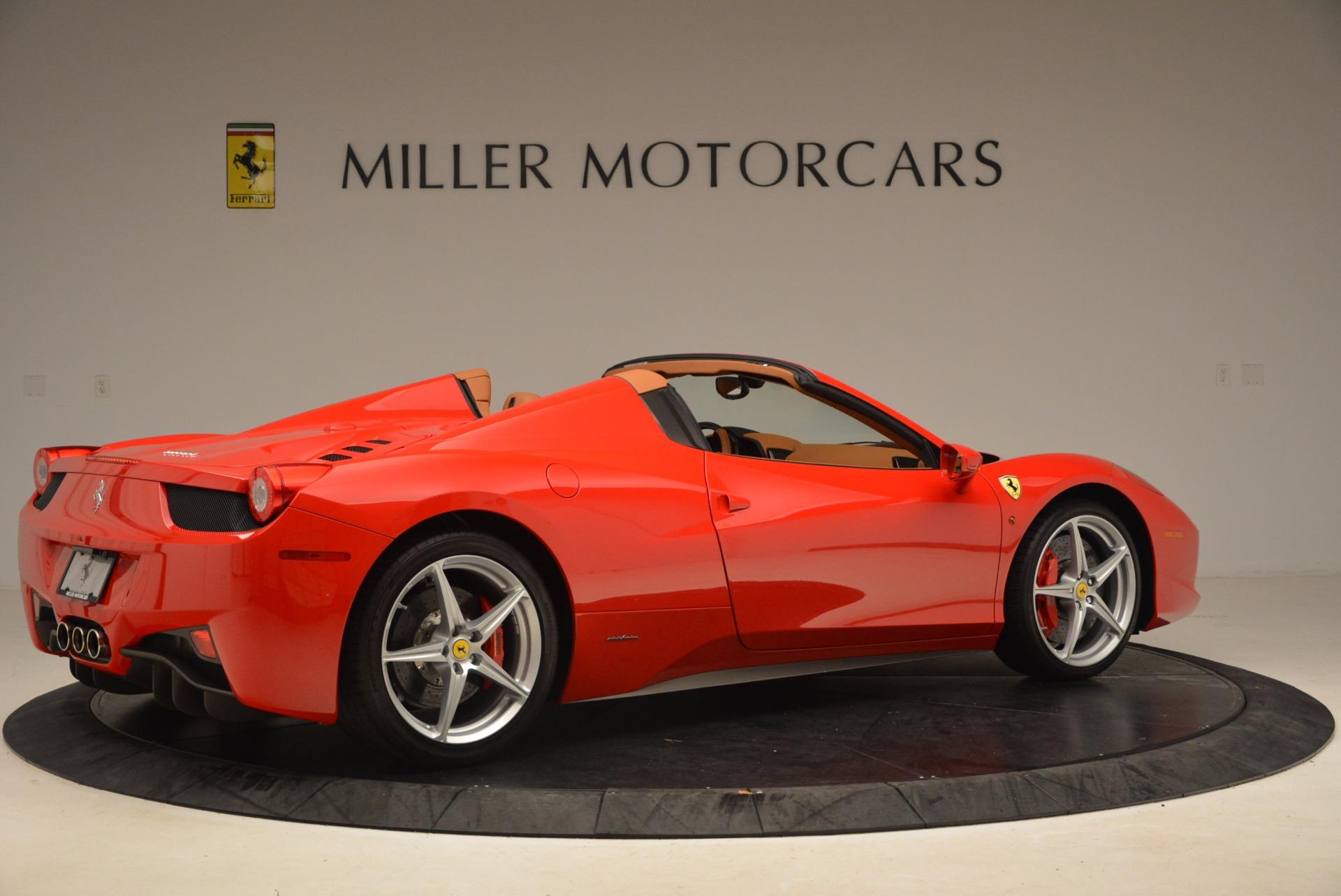 Used 2012 Ferrari 458 Spider  For Sale In Greenwich, CT. Alfa Romeo of Greenwich, 4594 1581_p8