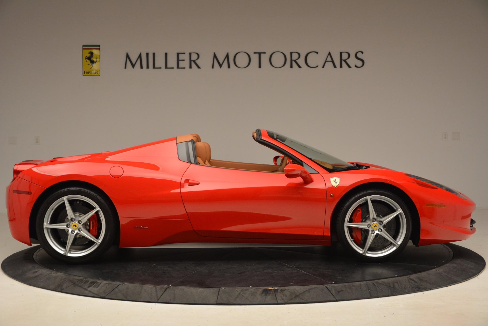 Used 2012 Ferrari 458 Spider  For Sale In Greenwich, CT. Alfa Romeo of Greenwich, 4594 1581_p9