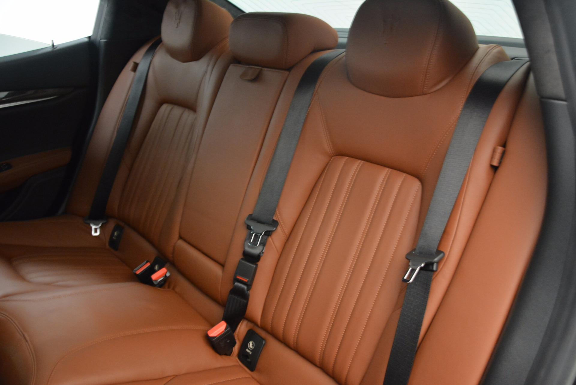 Used 2014 Maserati Ghibli S Q4 For Sale In Greenwich, CT. Alfa Romeo of Greenwich, 7281 1587_p19