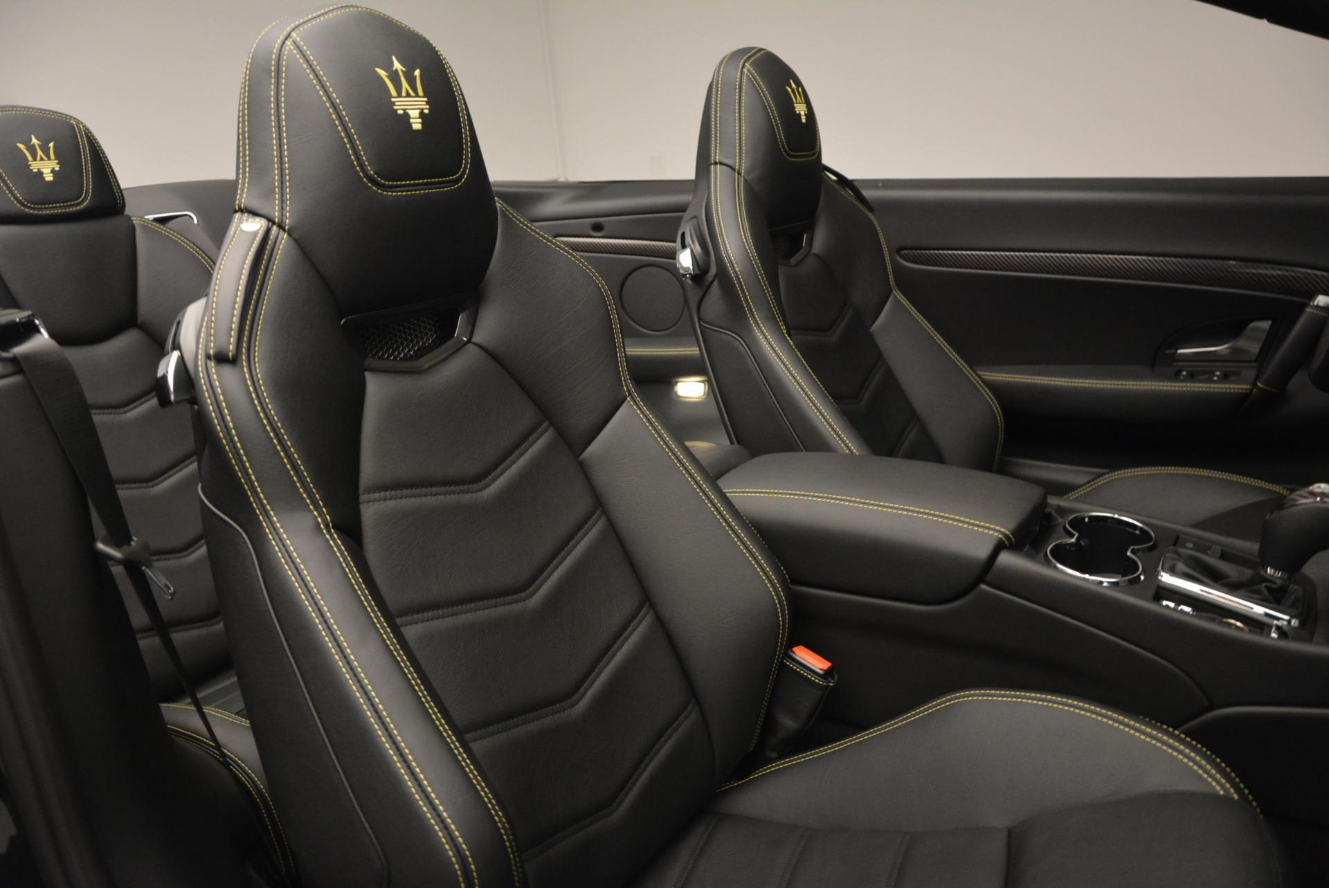 New 2017 Maserati GranTurismo Convertible Sport For Sale In Greenwich, CT. Alfa Romeo of Greenwich, M1632 159_p27