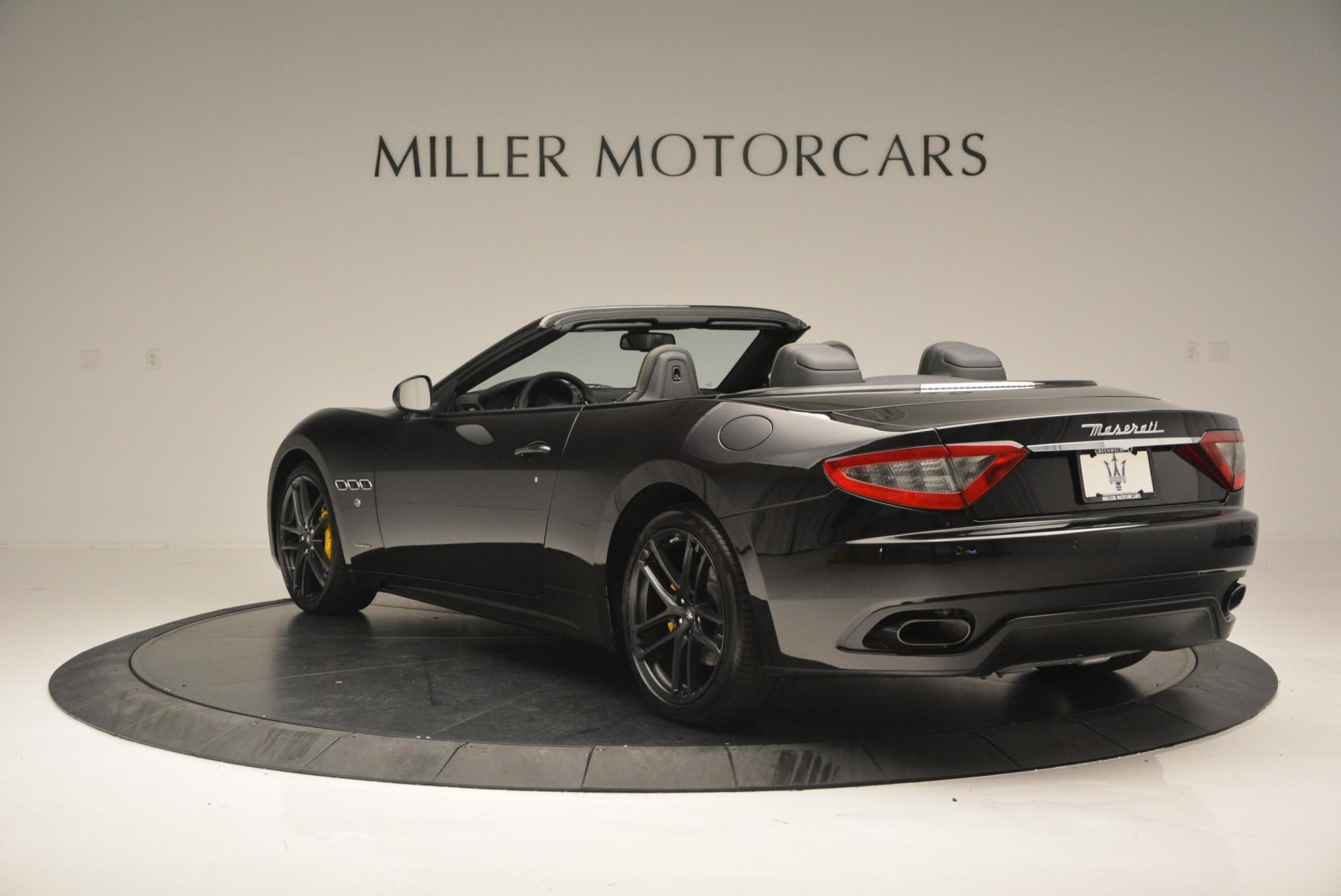 New 2017 Maserati GranTurismo Convertible Sport For Sale In Greenwich, CT. Alfa Romeo of Greenwich, M1632 159_p8