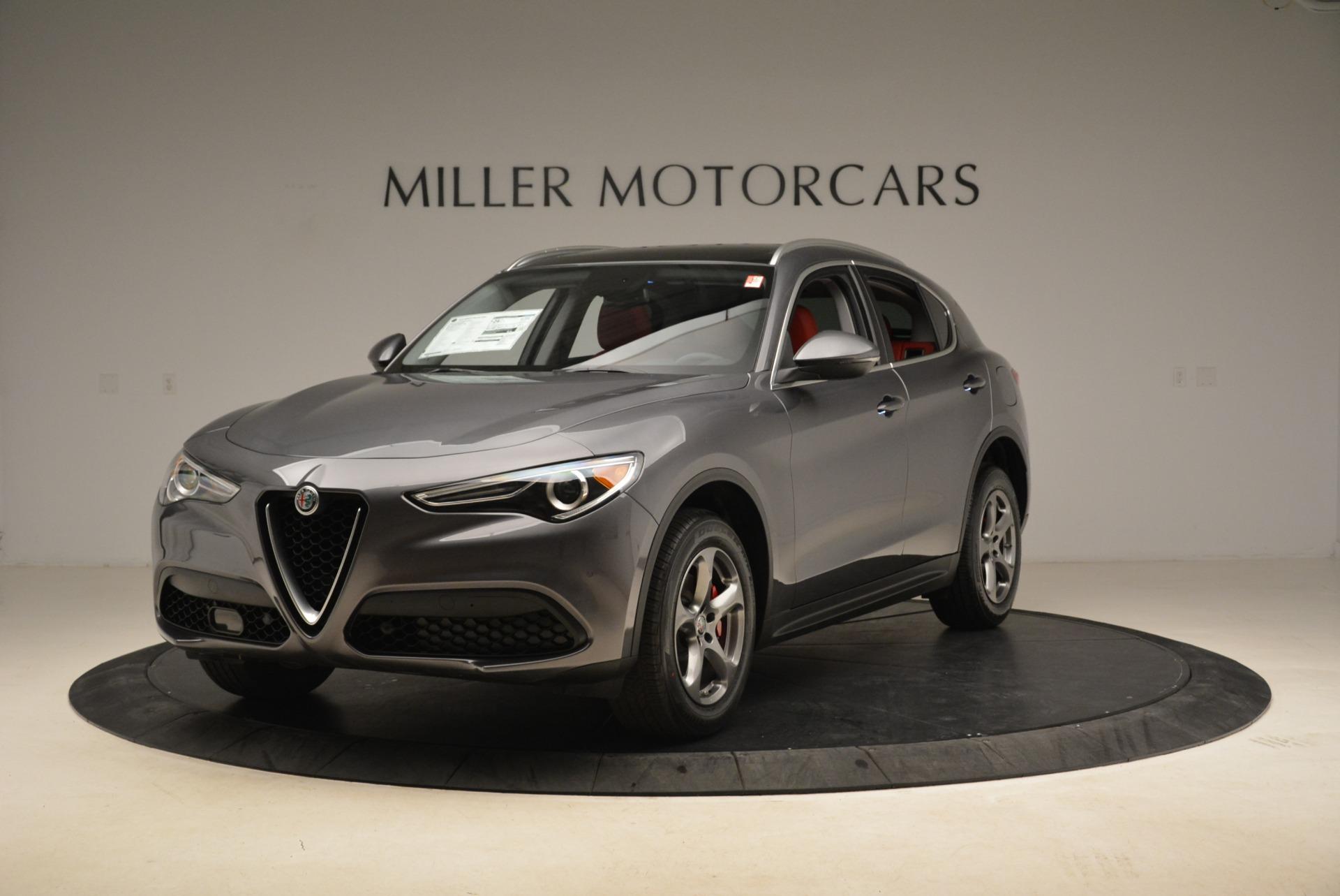 New 2018 Alfa Romeo Stelvio Q4 For Sale In Greenwich, CT. Alfa Romeo of Greenwich, LW042 1592_main