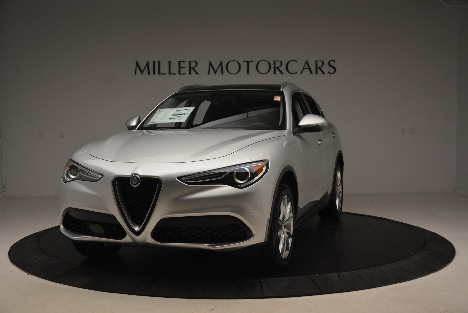 New 2018 Alfa Romeo Stelvio Ti Q4 For Sale In Greenwich, CT. Alfa Romeo of Greenwich, LW040 1594_main