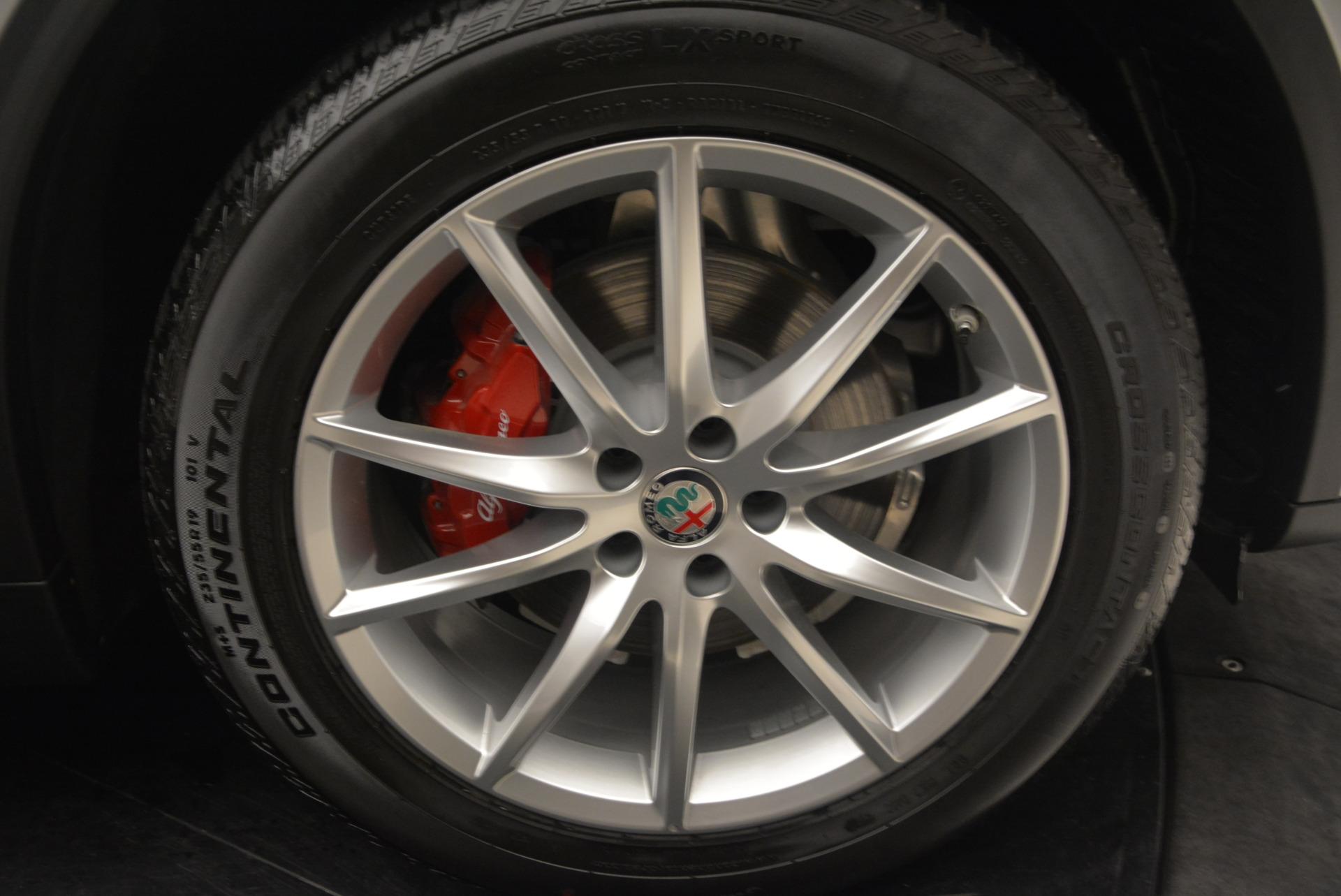 New 2018 Alfa Romeo Stelvio Ti Q4 For Sale In Greenwich, CT. Alfa Romeo of Greenwich, LW040 1594_p25