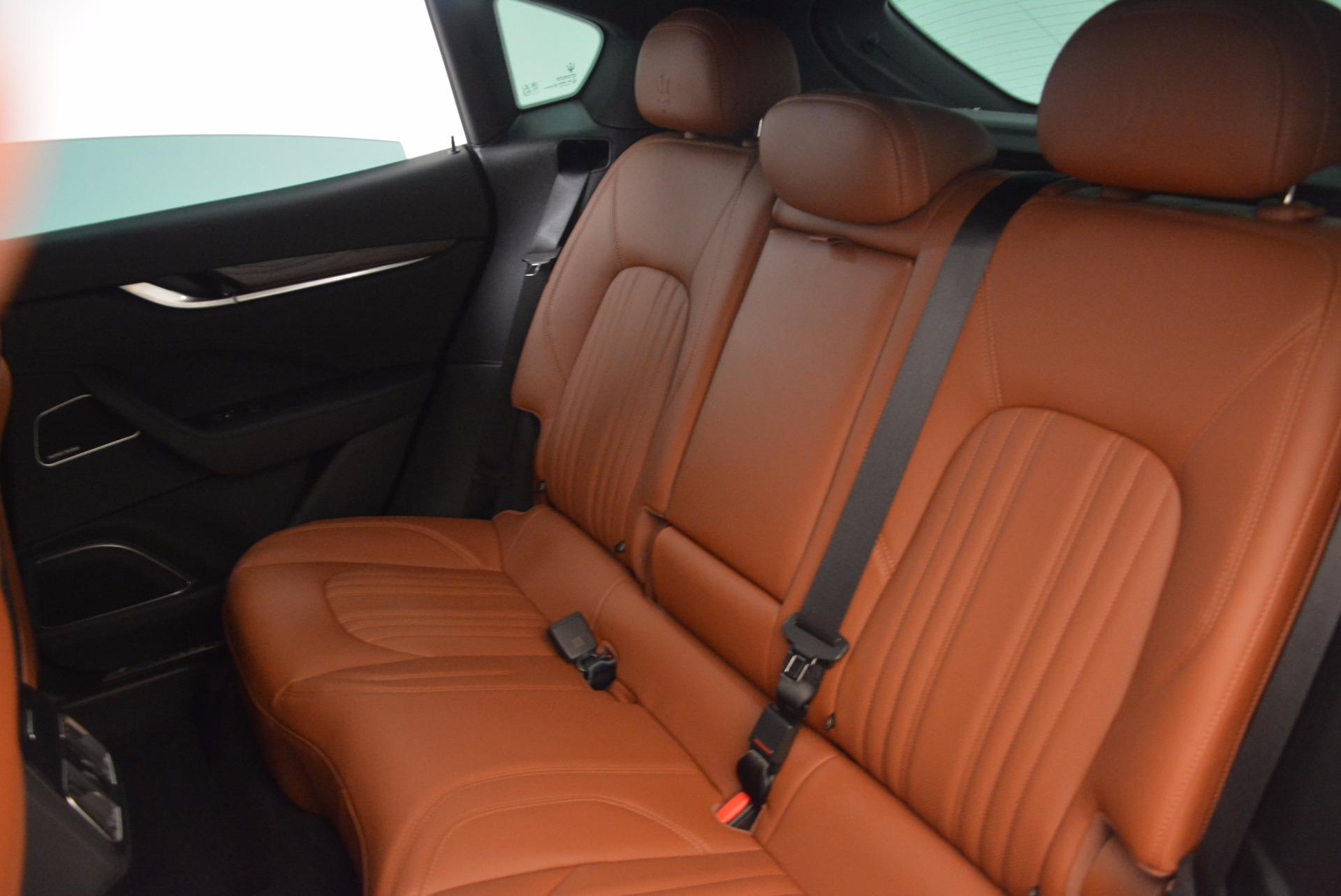 New 2018 Maserati Levante Q4 GranLusso For Sale In Greenwich, CT. Alfa Romeo of Greenwich, M1945 1599_p20