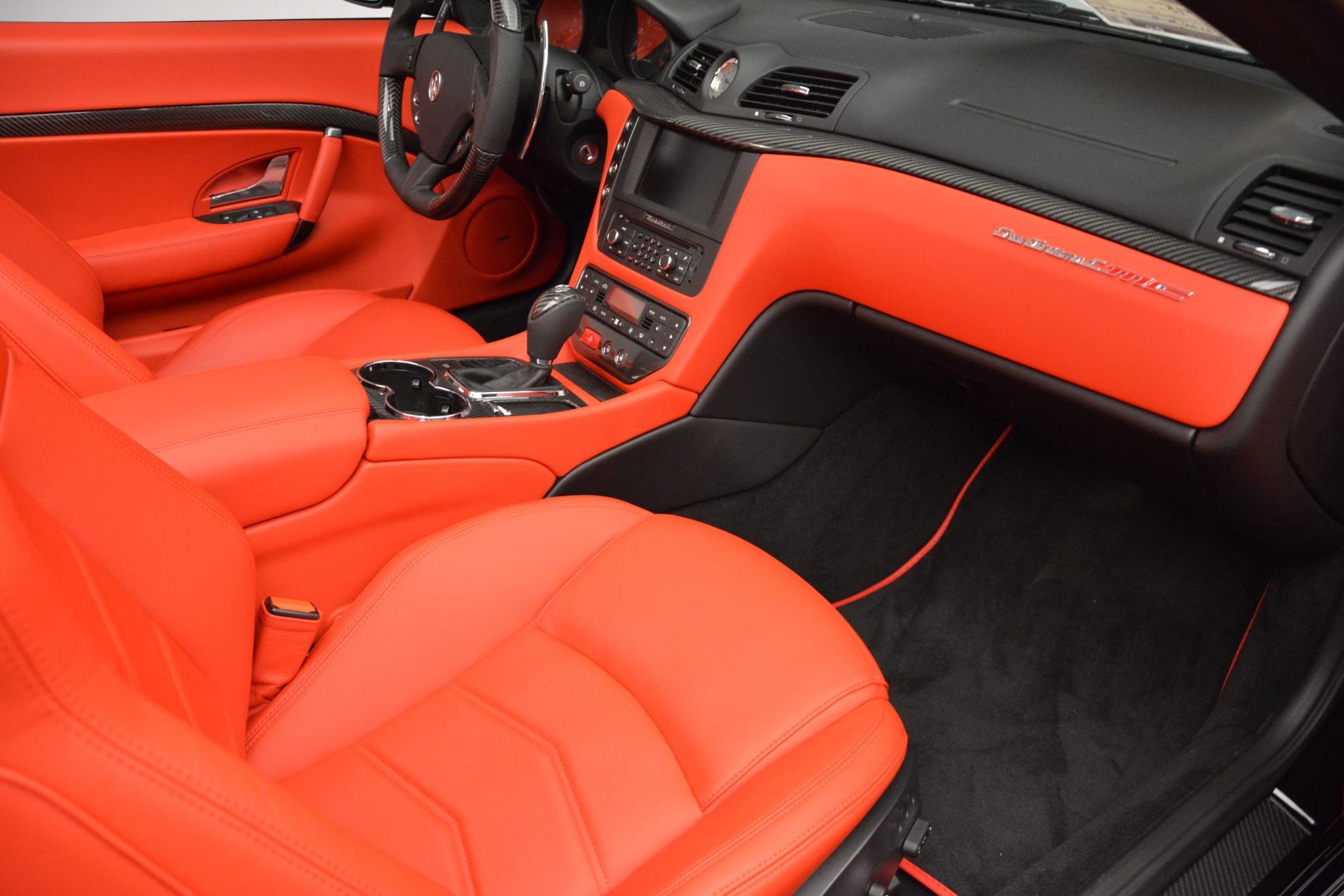 New 2016 Maserati GranTurismo Convertible MC For Sale In Greenwich, CT. Alfa Romeo of Greenwich, M1458 160_p26
