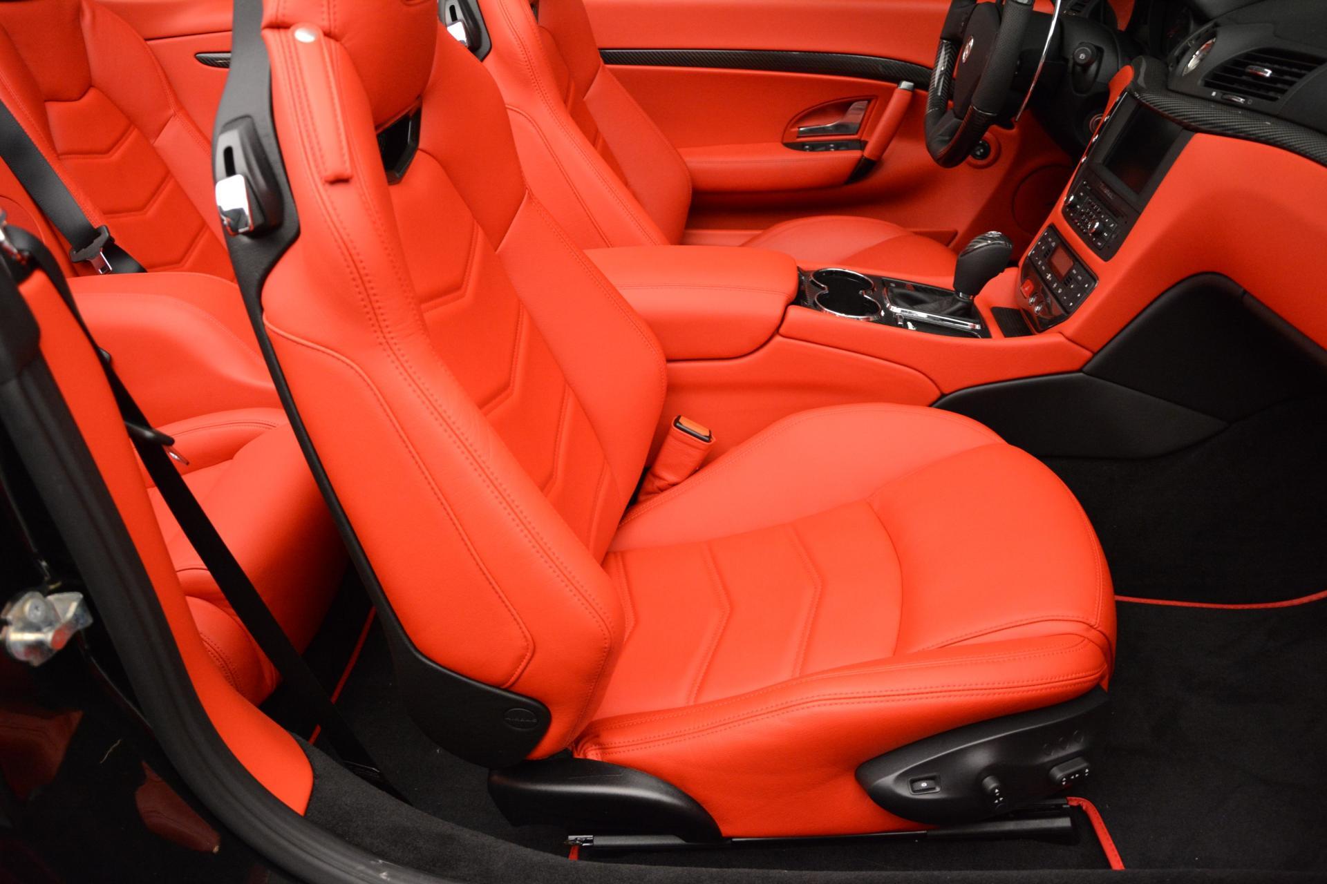 New 2016 Maserati GranTurismo Convertible MC For Sale In Greenwich, CT. Alfa Romeo of Greenwich, M1458 160_p27