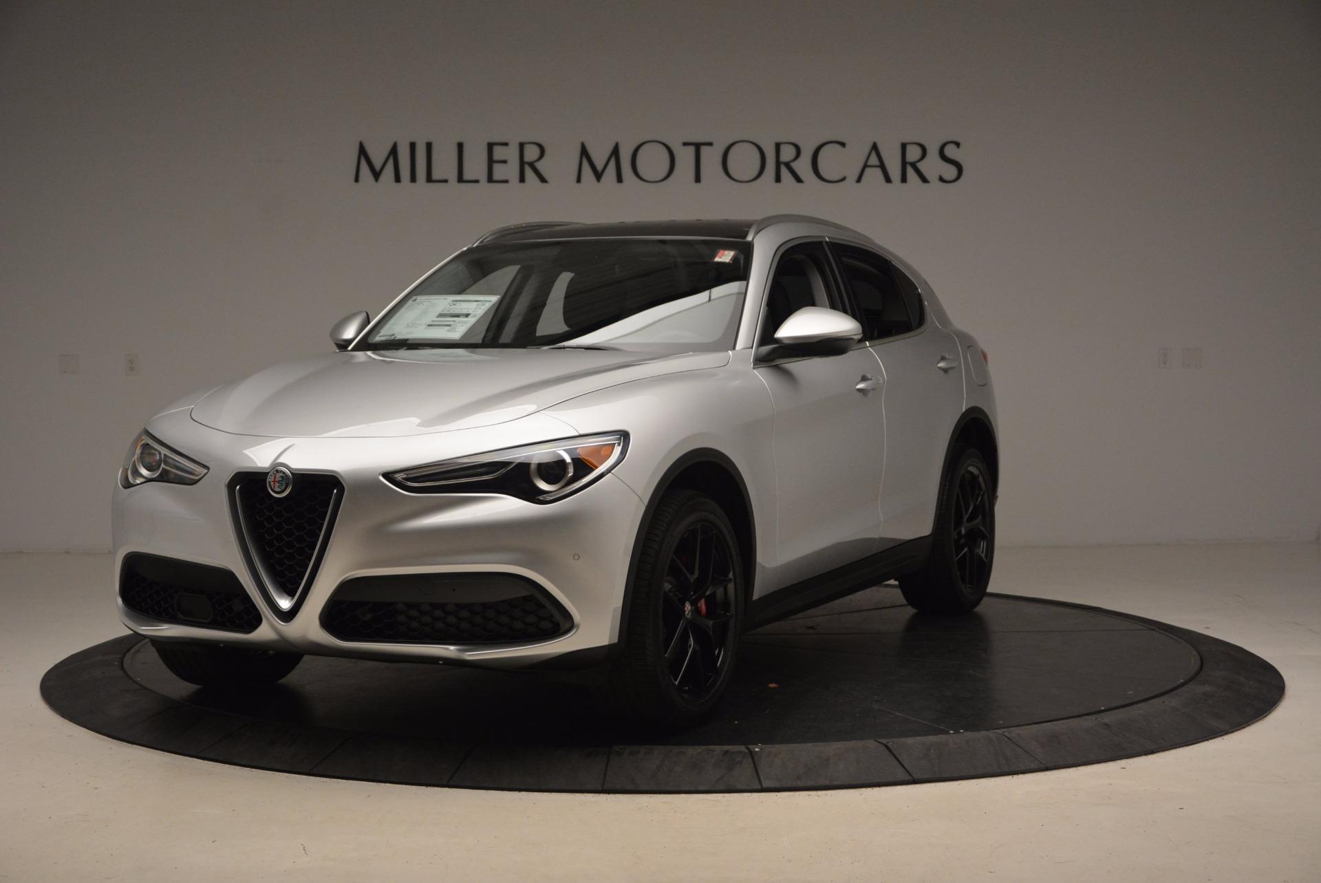 New 2018 Alfa Romeo Stelvio Ti Q4 For Sale In Greenwich, CT. Alfa Romeo of Greenwich, L235 1606_main