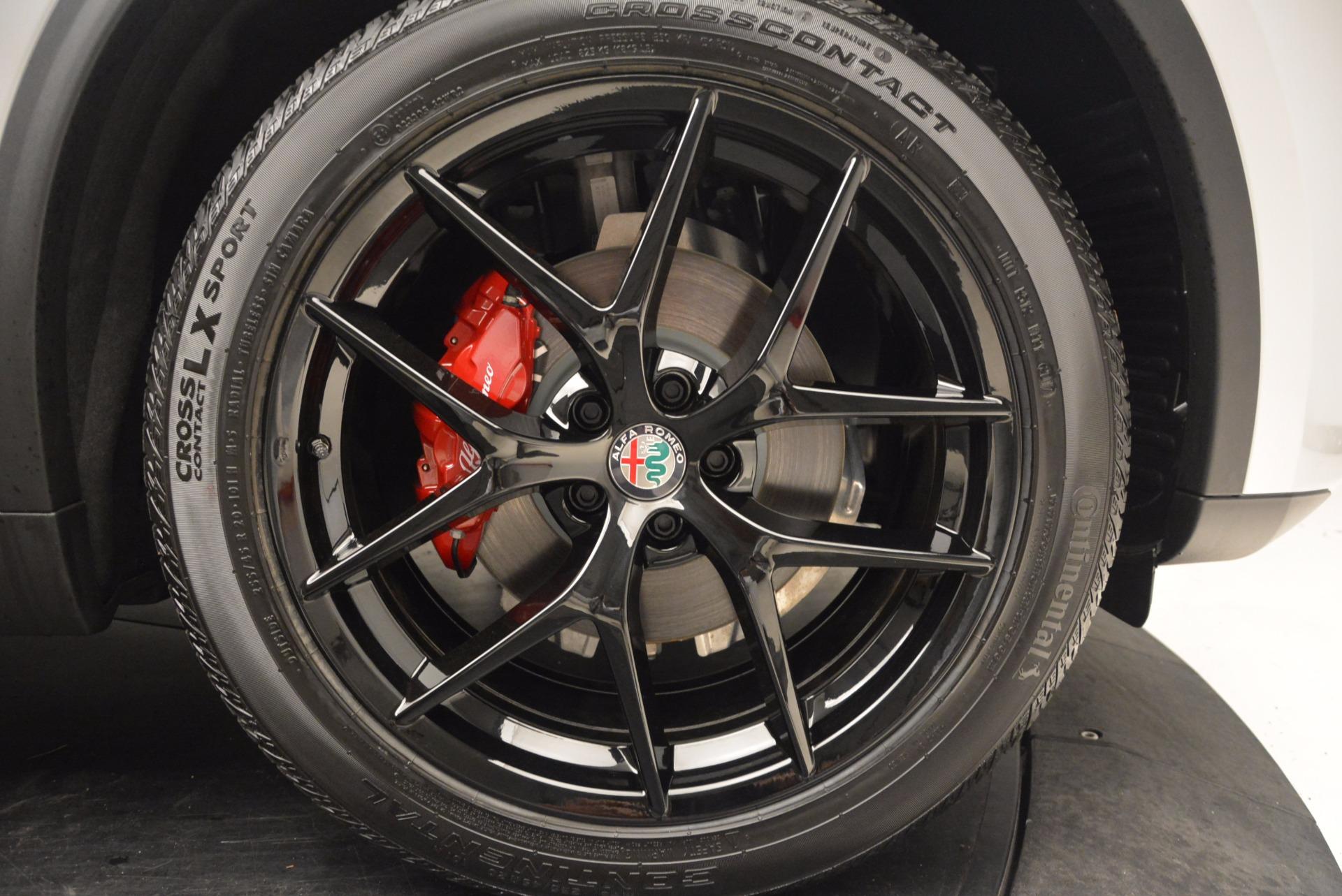New 2018 Alfa Romeo Stelvio Ti Q4 For Sale In Greenwich, CT. Alfa Romeo of Greenwich, L235 1606_p25