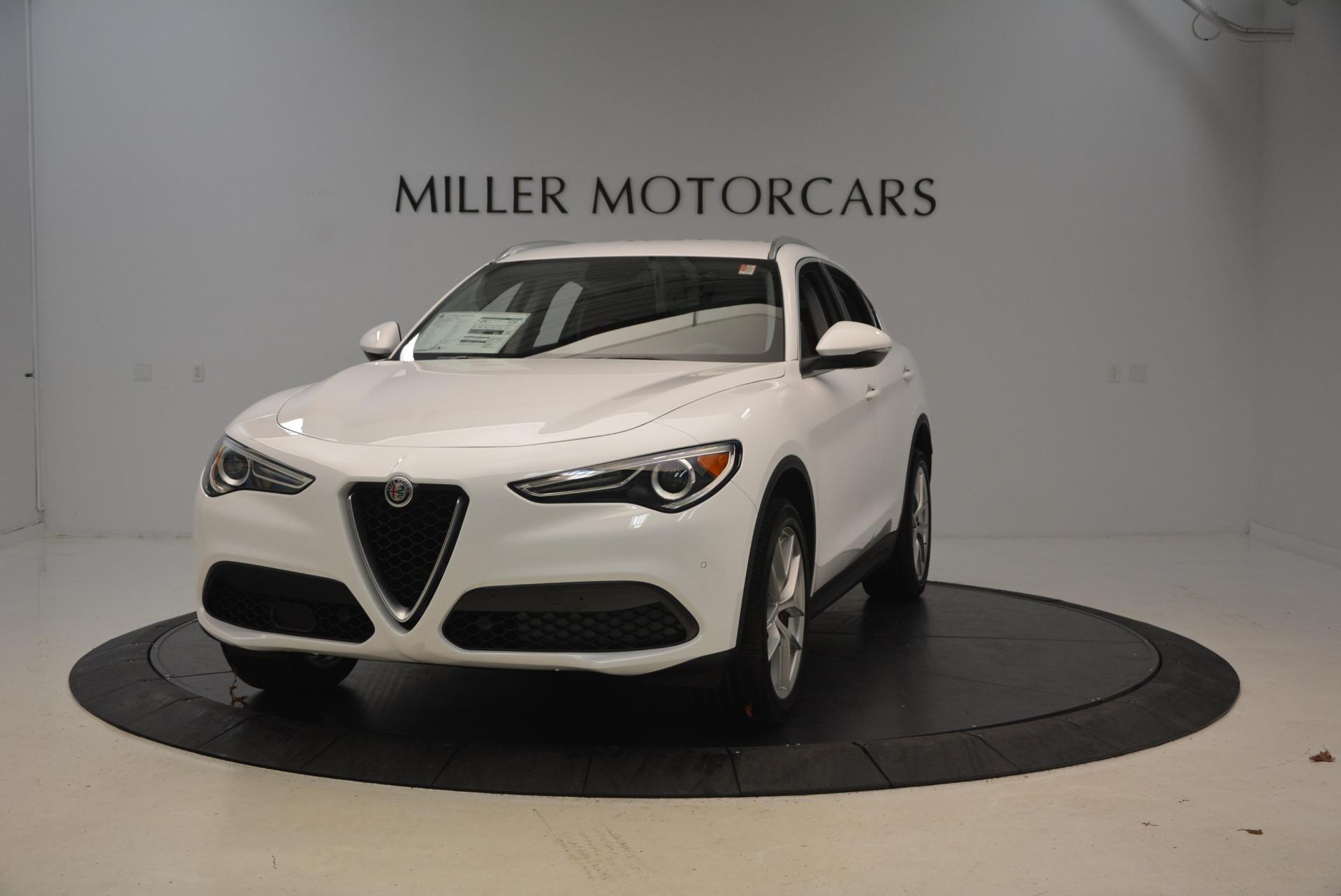 New 2018 Alfa Romeo Stelvio Q4 For Sale In Greenwich, CT. Alfa Romeo of Greenwich, L231 1610_main