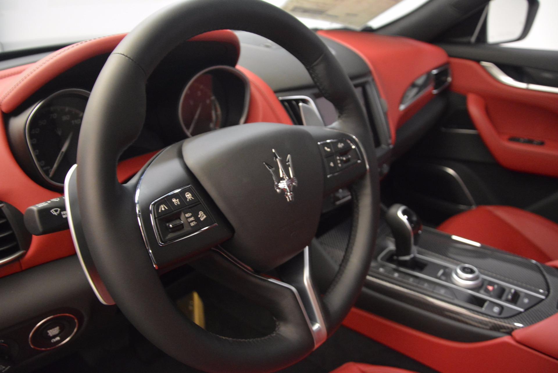 New 2018 Maserati Levante S Q4 GranLusso For Sale In Greenwich, CT. Alfa Romeo of Greenwich, M1948 1613_p14