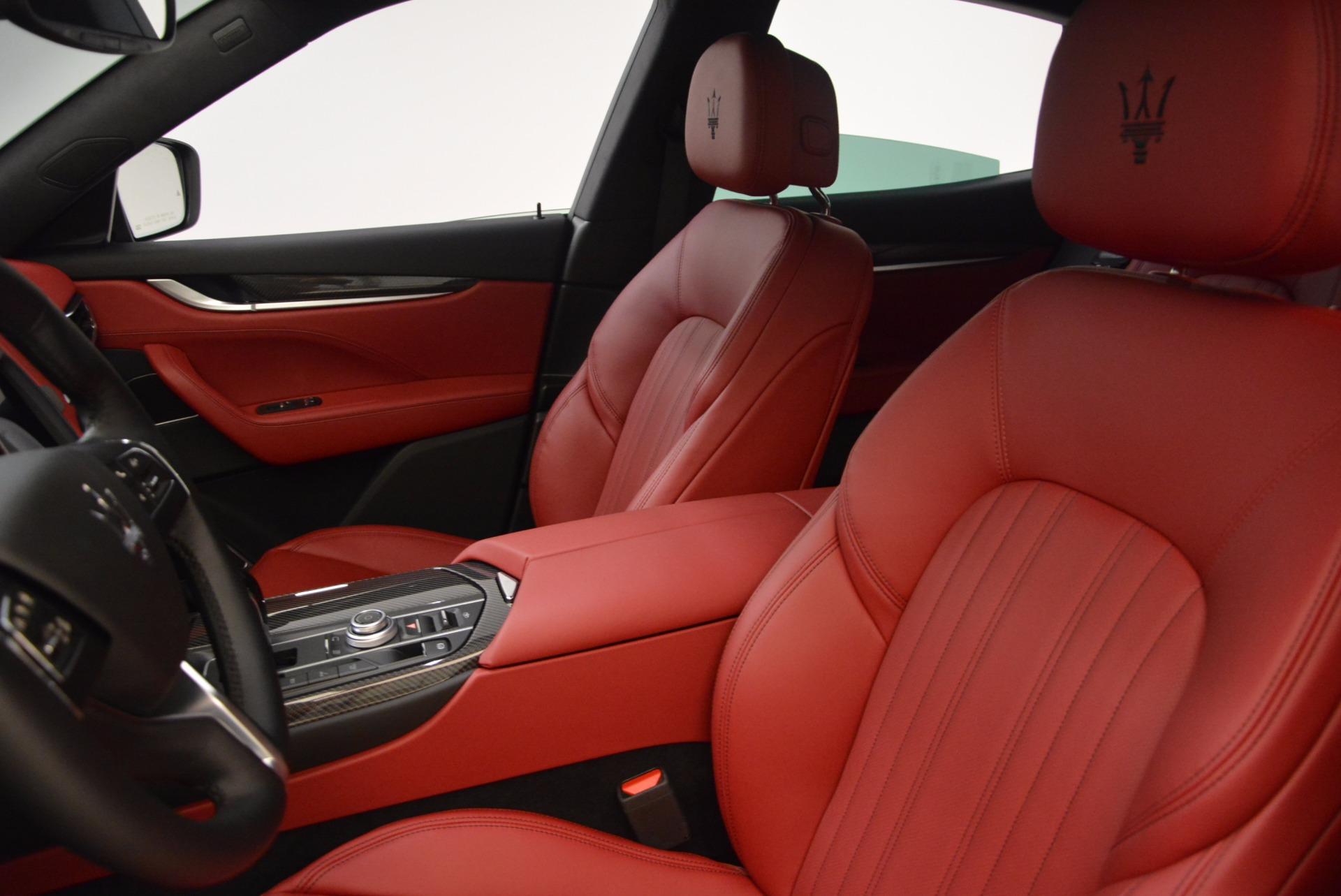 New 2018 Maserati Levante S Q4 GranLusso For Sale In Greenwich, CT. Alfa Romeo of Greenwich, M1948 1613_p16