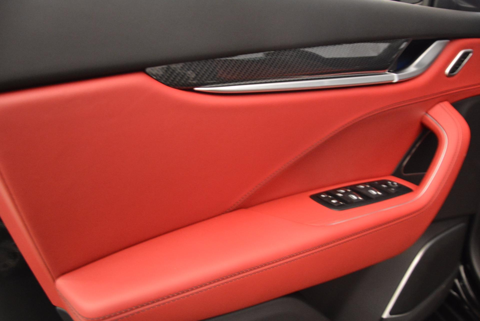 New 2018 Maserati Levante S Q4 GranLusso For Sale In Greenwich, CT. Alfa Romeo of Greenwich, M1948 1613_p17