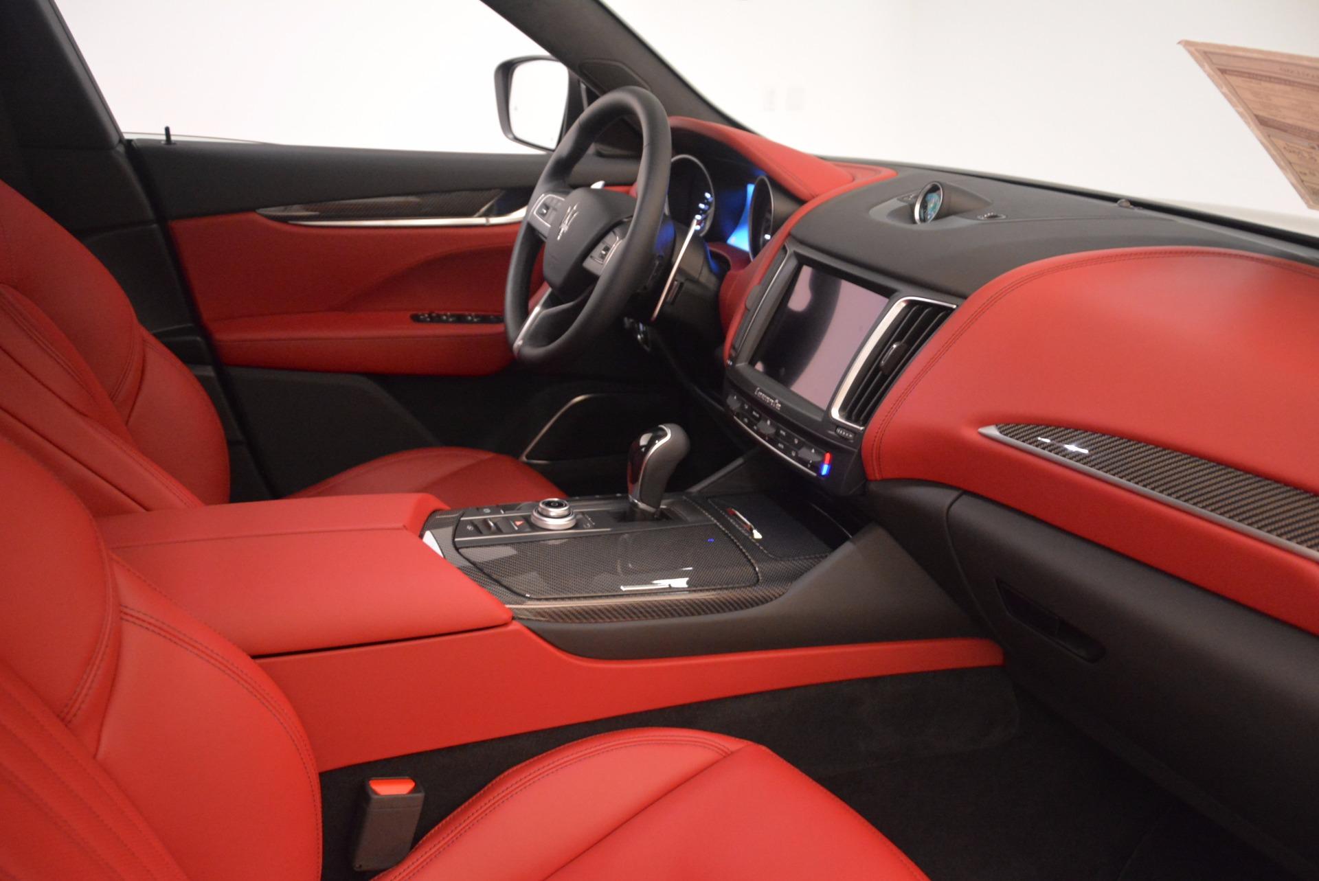 New 2018 Maserati Levante S Q4 GranLusso For Sale In Greenwich, CT. Alfa Romeo of Greenwich, M1948 1613_p21