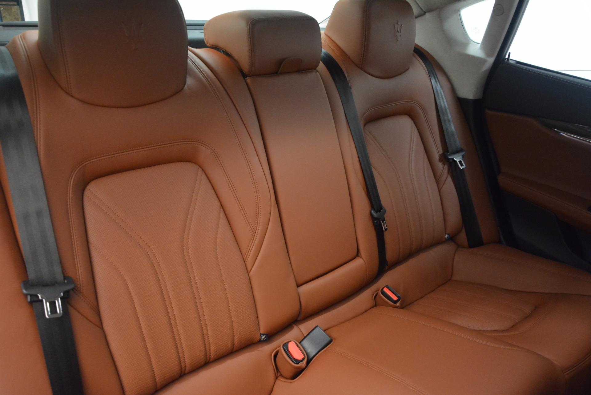 New 2018 Maserati Quattroporte S Q4 GranLusso For Sale In Greenwich, CT. Alfa Romeo of Greenwich, M1949 1614_p24