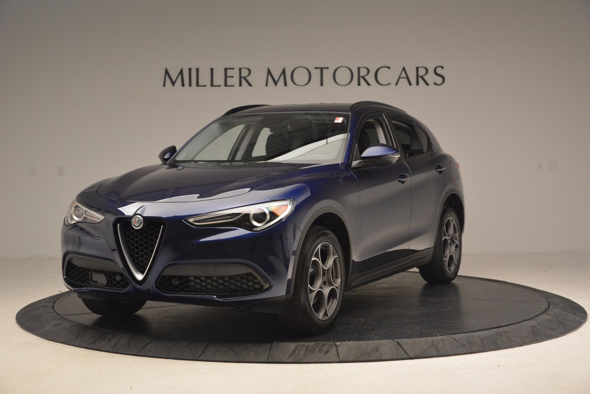 New 2018 Alfa Romeo Stelvio Sport Q4 For Sale In Greenwich, CT. Alfa Romeo of Greenwich, LW048 1617_main