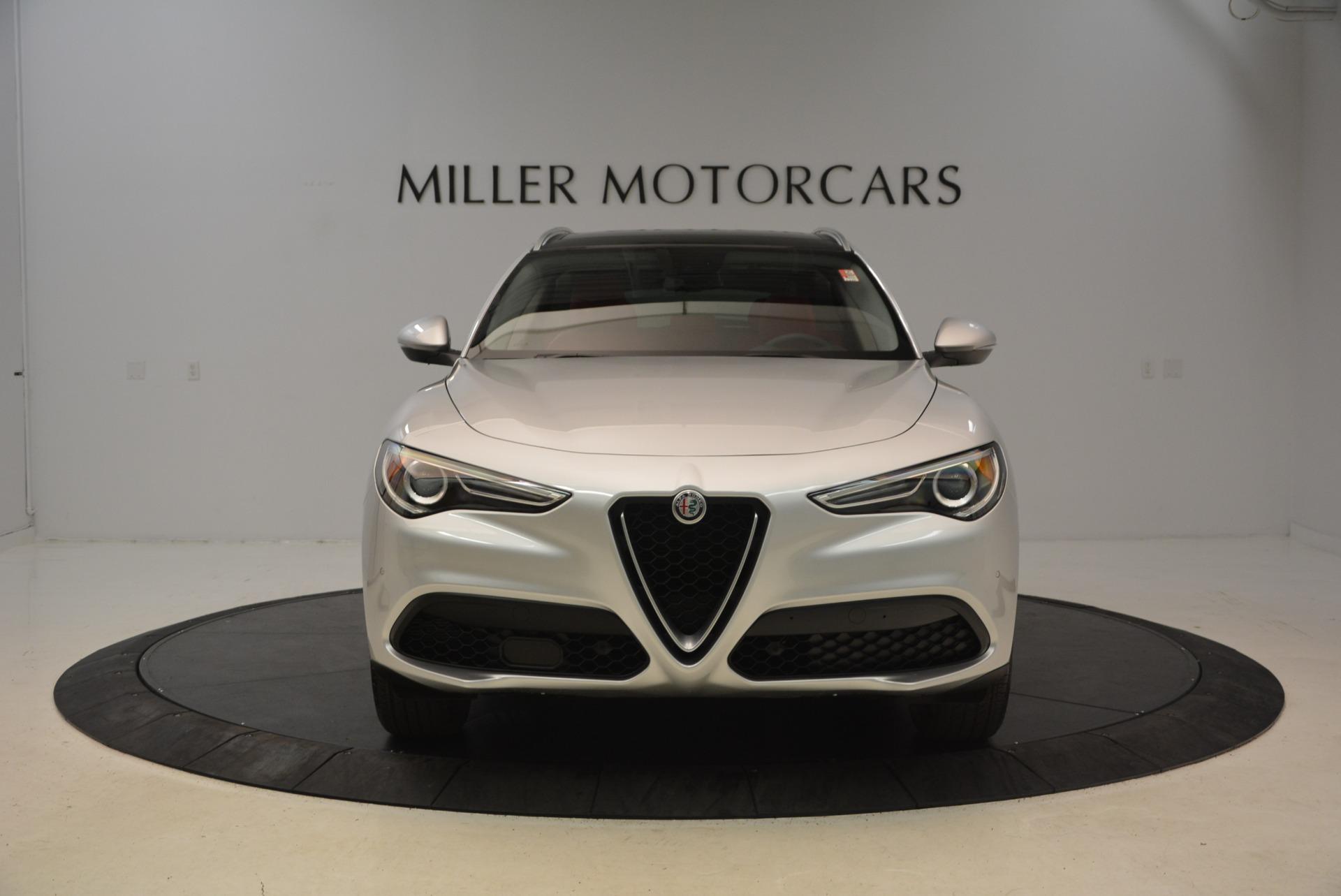 New 2018 Alfa Romeo Stelvio Q4 For Sale In Greenwich, CT. Alfa Romeo of Greenwich, LW050 1619_p2