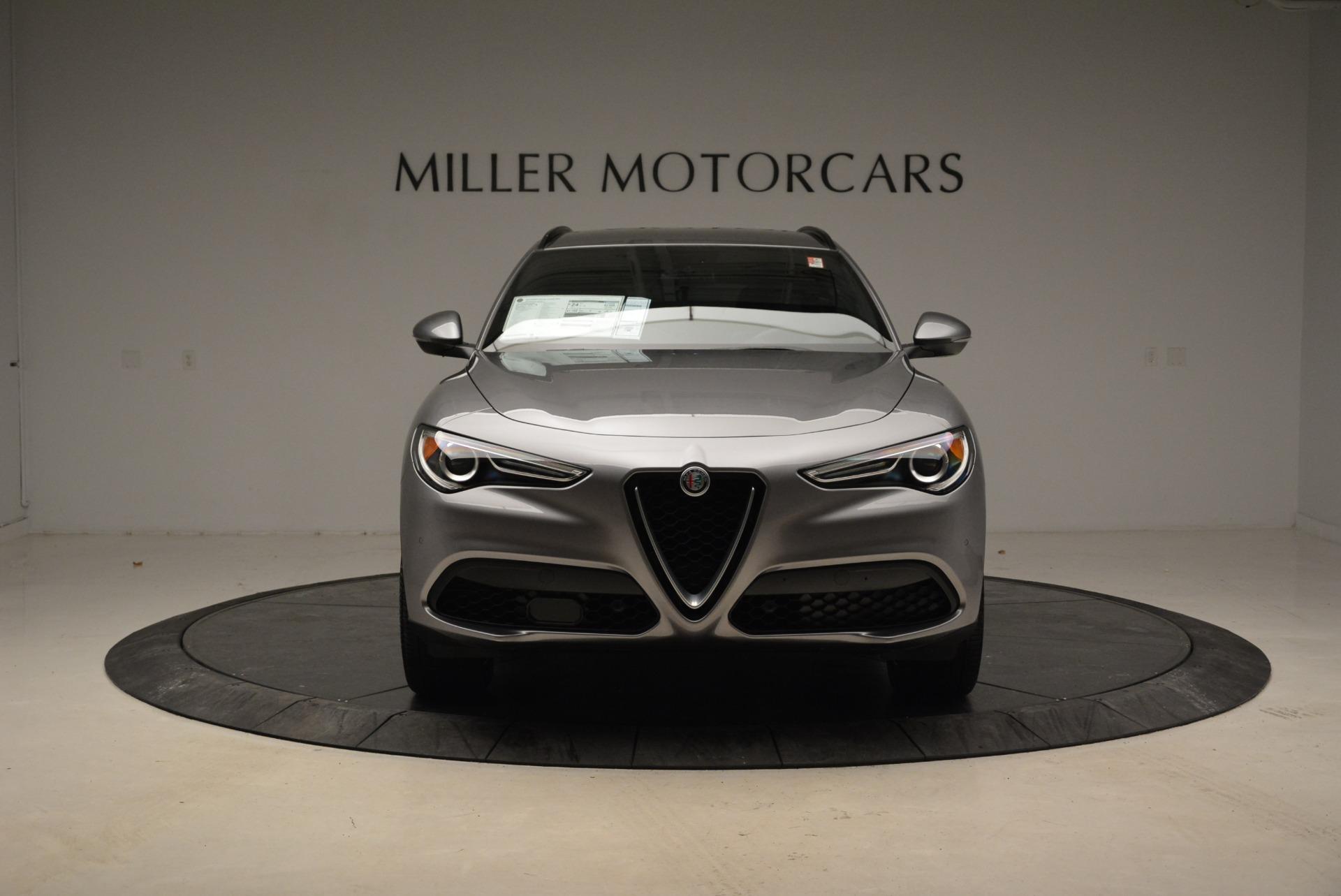 New 2018 Alfa Romeo Stelvio Ti Sport Q4 For Sale In Greenwich, CT. Alfa Romeo of Greenwich, LW052 1621_p12