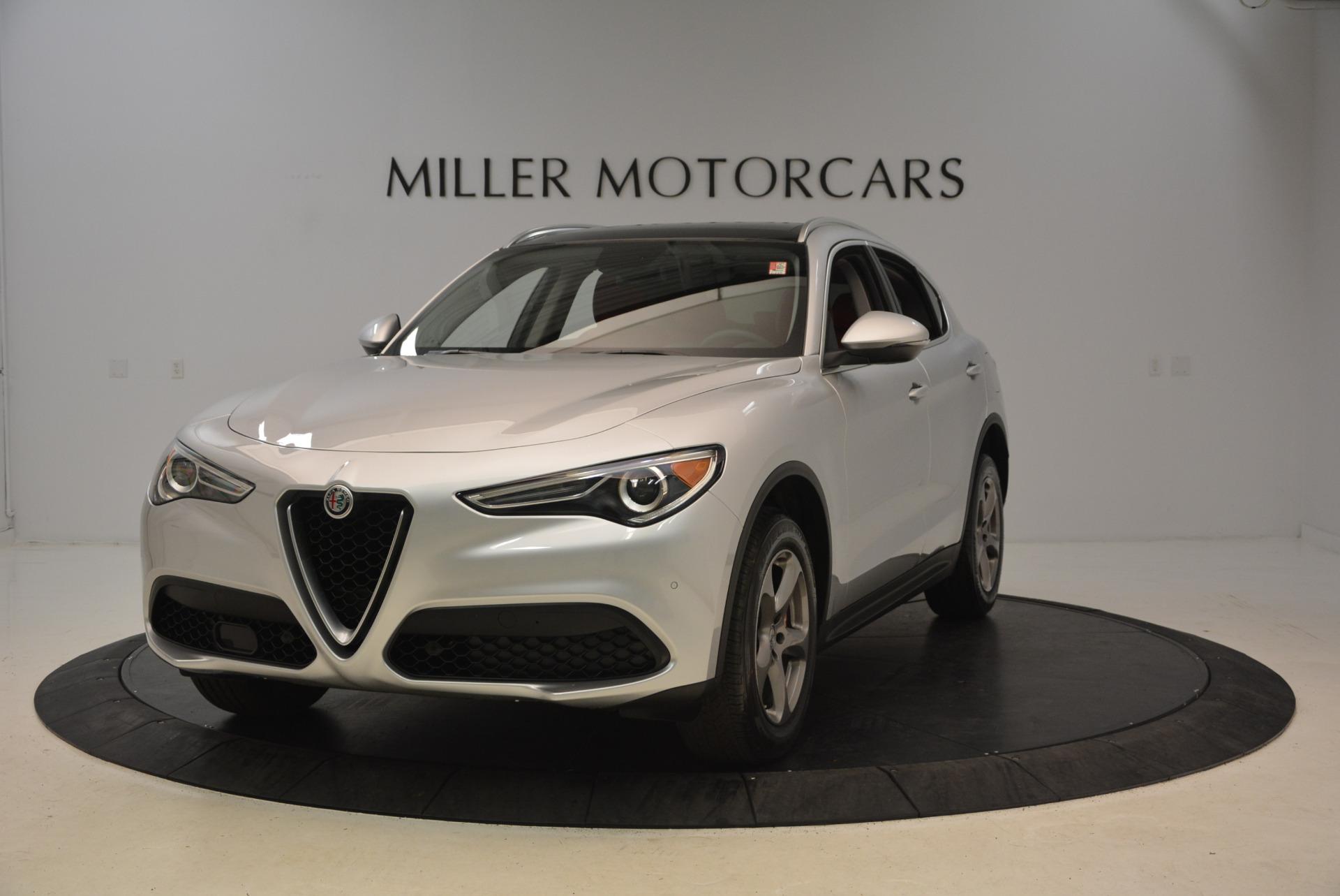 New 2018 Alfa Romeo Stelvio Q4 For Sale In Greenwich, CT. Alfa Romeo of Greenwich, L237 1624_main