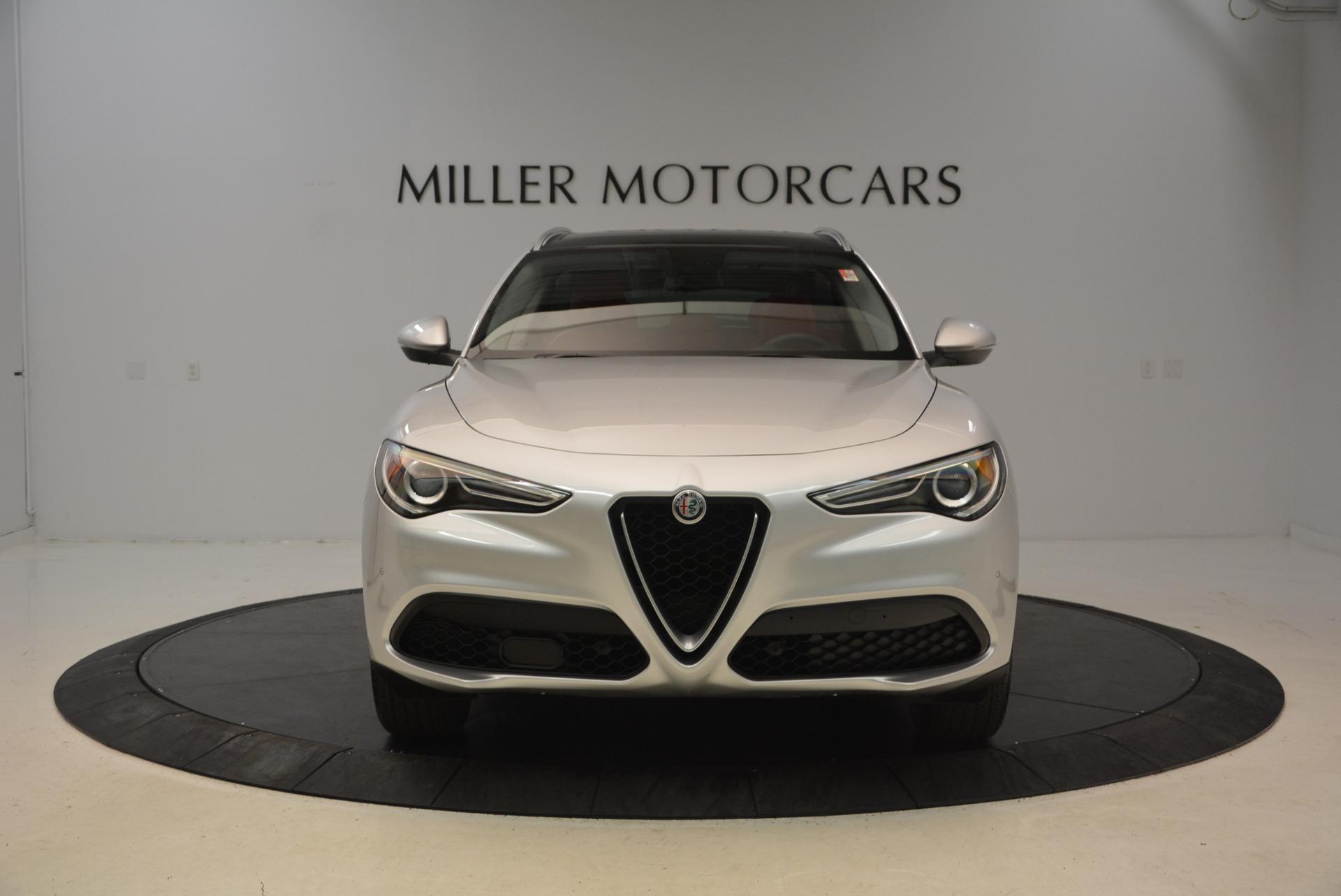 New 2018 Alfa Romeo Stelvio Q4 For Sale In Greenwich, CT. Alfa Romeo of Greenwich, L237 1624_p12