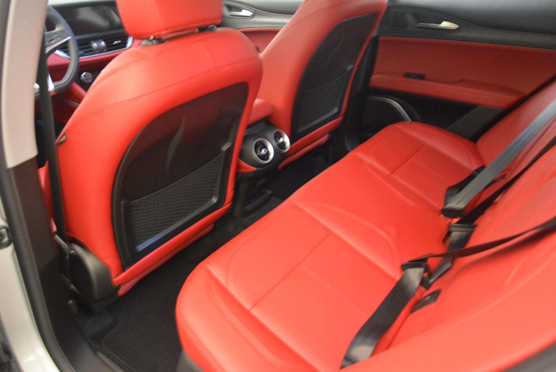 New 2018 Alfa Romeo Stelvio Q4 For Sale In Greenwich, CT. Alfa Romeo of Greenwich, L237 1624_p16