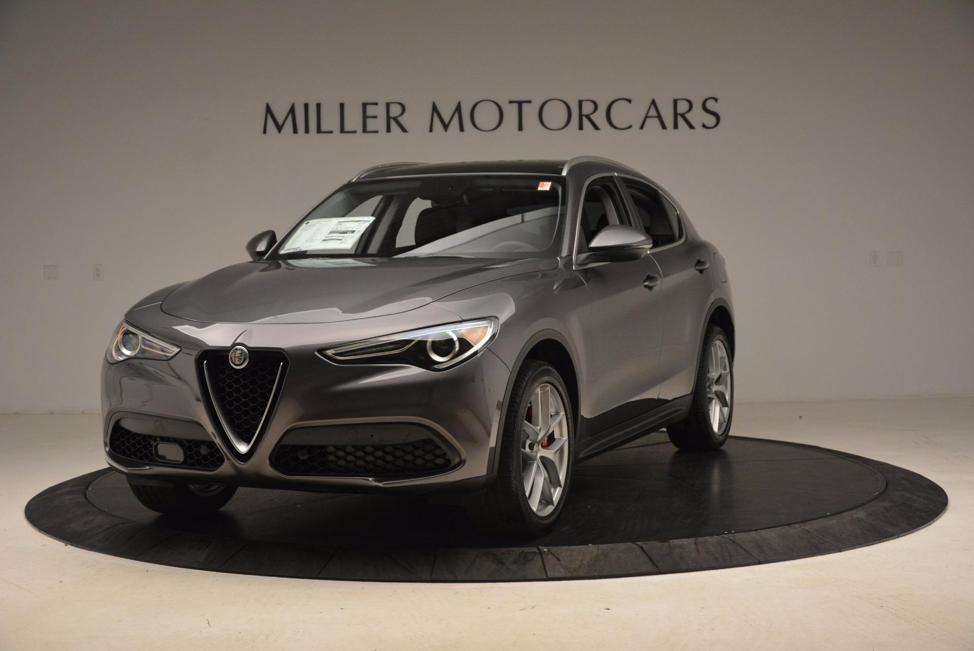 New 2018 Alfa Romeo Stelvio Q4 For Sale In Greenwich, CT. Alfa Romeo of Greenwich, L239 1625_main