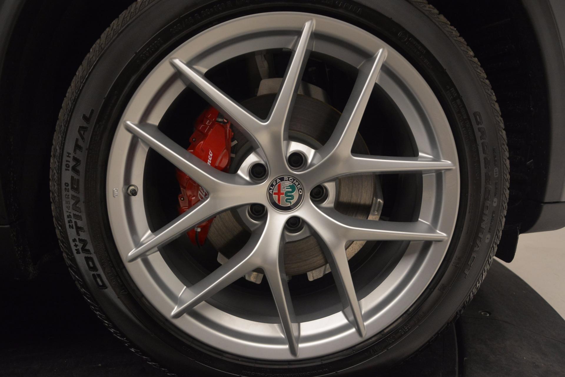 New 2018 Alfa Romeo Stelvio Q4 For Sale In Greenwich, CT. Alfa Romeo of Greenwich, L239 1625_p25