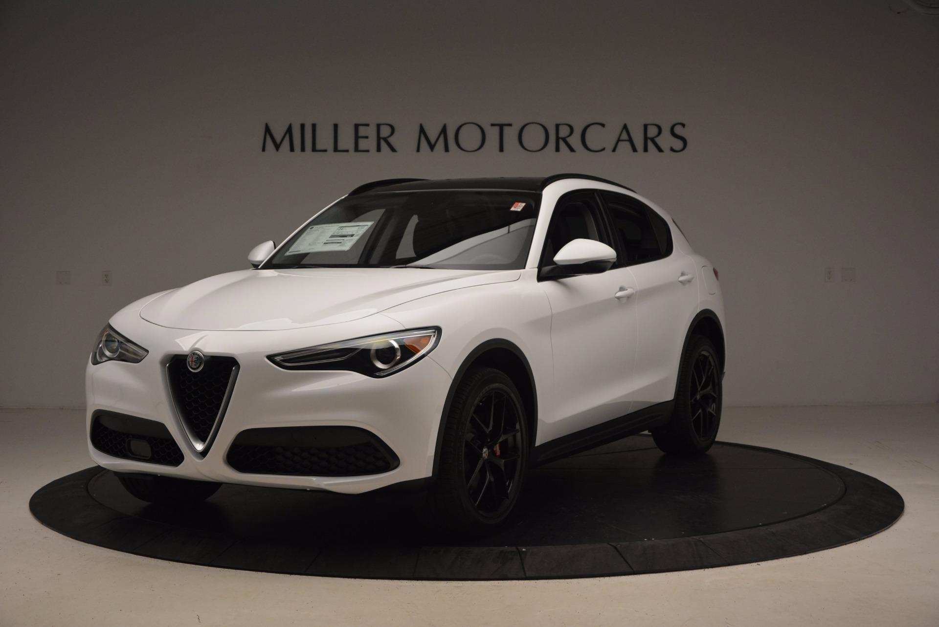 New 2018 Alfa Romeo Stelvio Sport Q4 For Sale In Greenwich, CT. Alfa Romeo of Greenwich, L241 1627_main