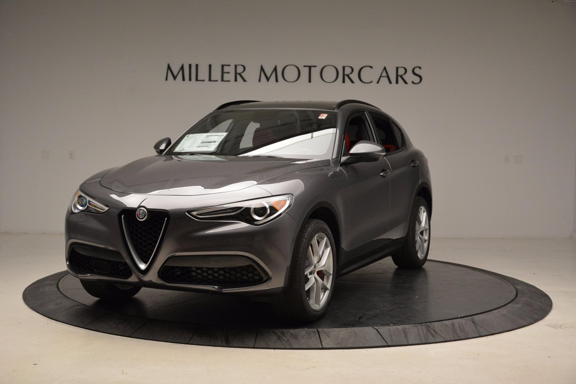 New 2018 Alfa Romeo Stelvio Ti Sport Q4 For Sale In Greenwich, CT. Alfa Romeo of Greenwich, L243 1629_main