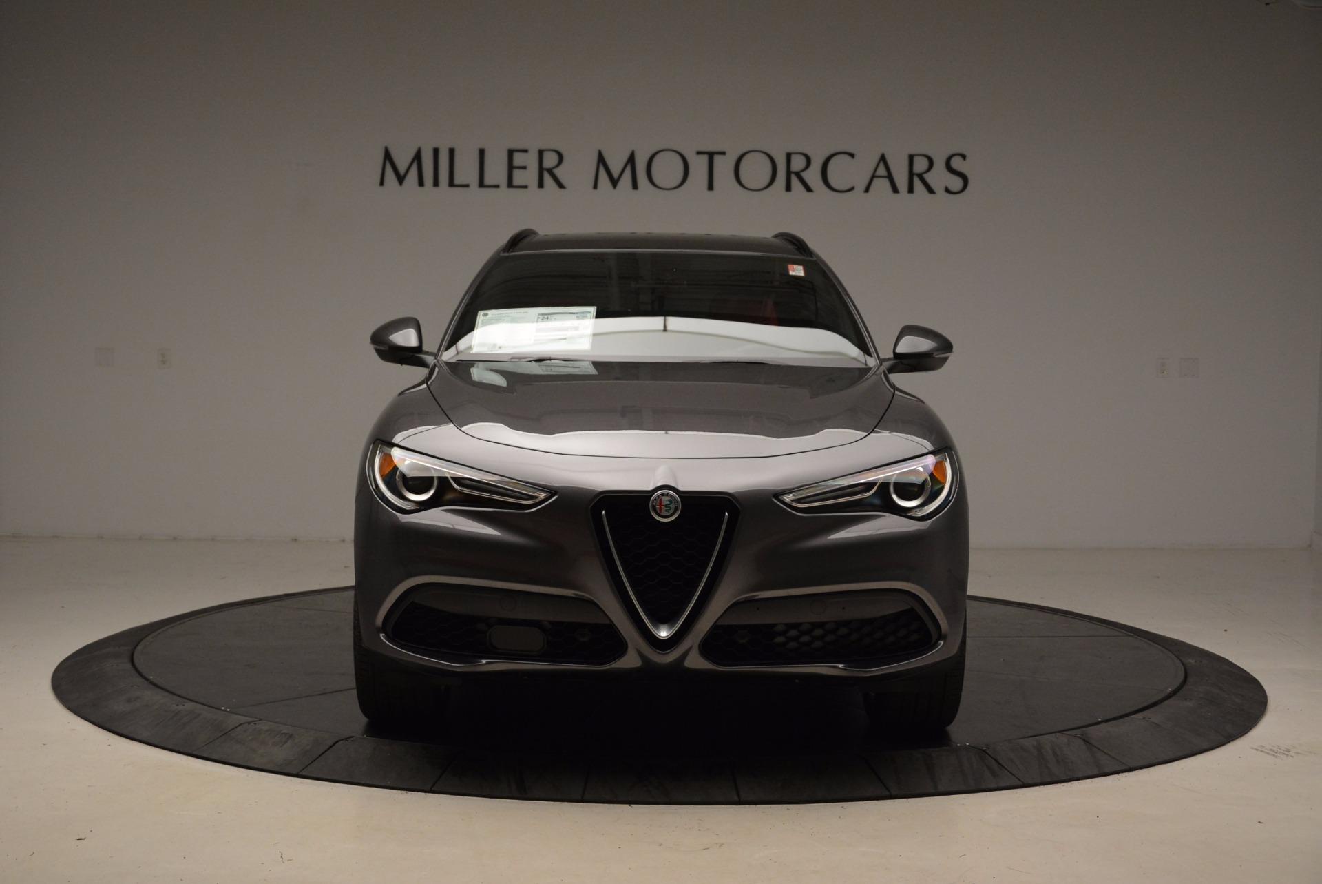 New 2018 Alfa Romeo Stelvio Ti Sport Q4 For Sale In Greenwich, CT. Alfa Romeo of Greenwich, L243 1629_p12