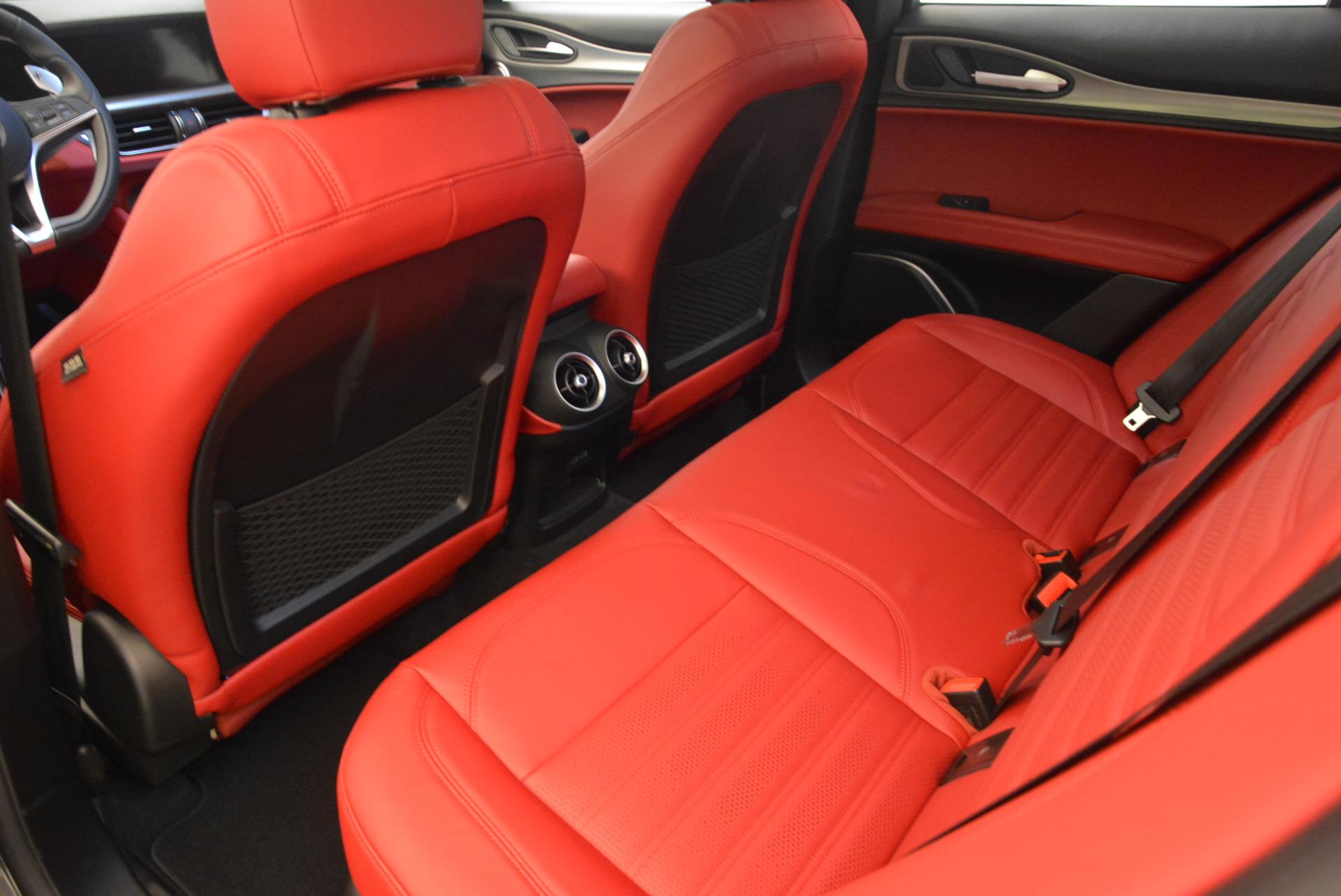 New 2018 Alfa Romeo Stelvio Ti Sport Q4 For Sale In Greenwich, CT. Alfa Romeo of Greenwich, L243 1629_p16