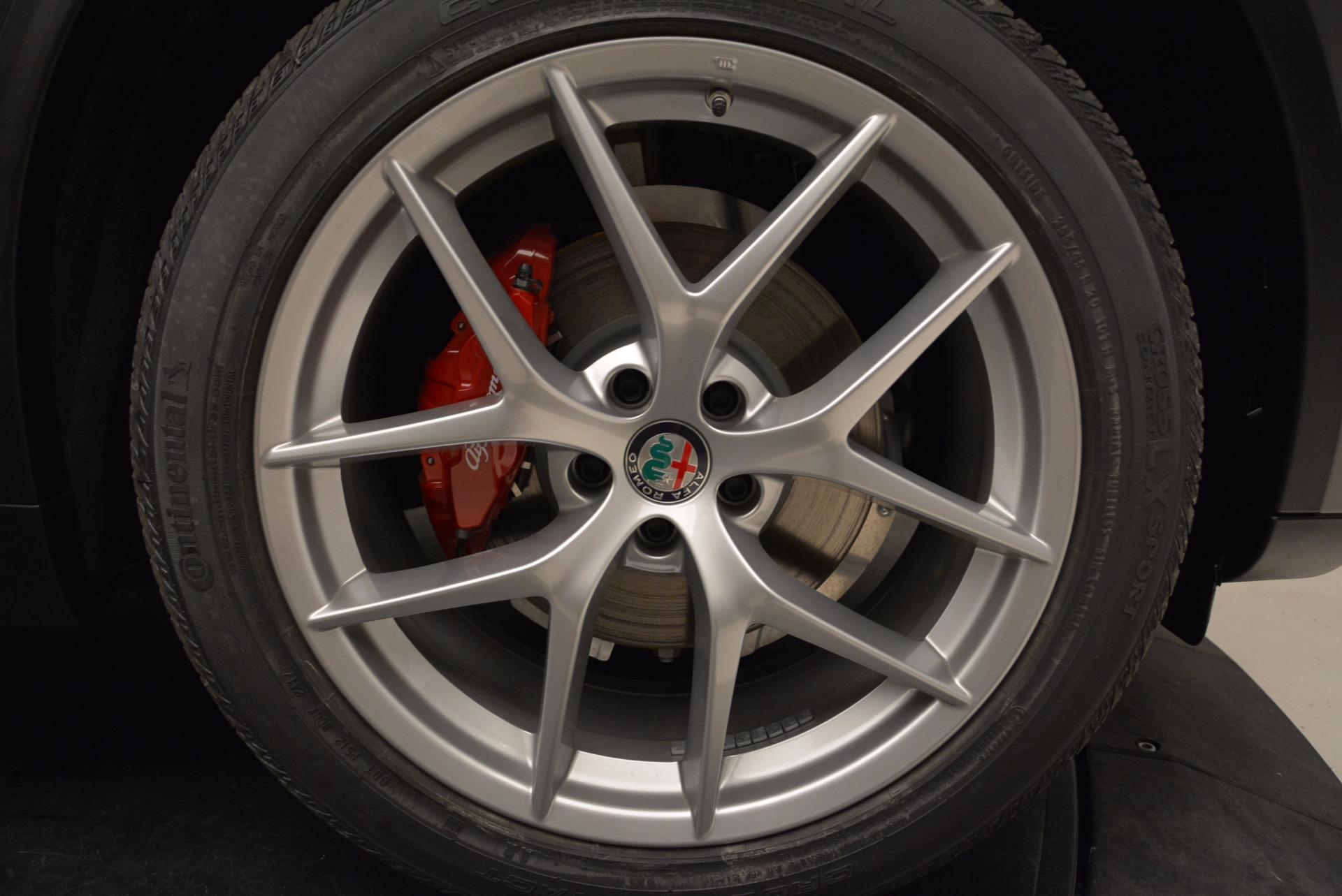 New 2018 Alfa Romeo Stelvio Ti Sport Q4 For Sale In Greenwich, CT. Alfa Romeo of Greenwich, L243 1629_p25