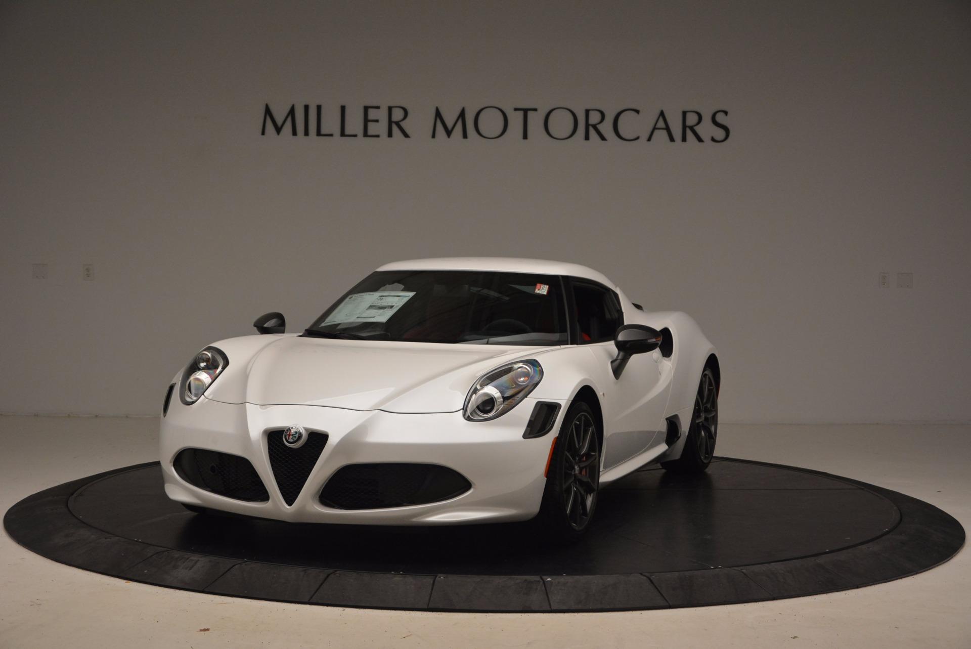 New 2018 Alfa Romeo 4C Coupe For Sale In Greenwich, CT. Alfa Romeo of Greenwich, L244 1633_main
