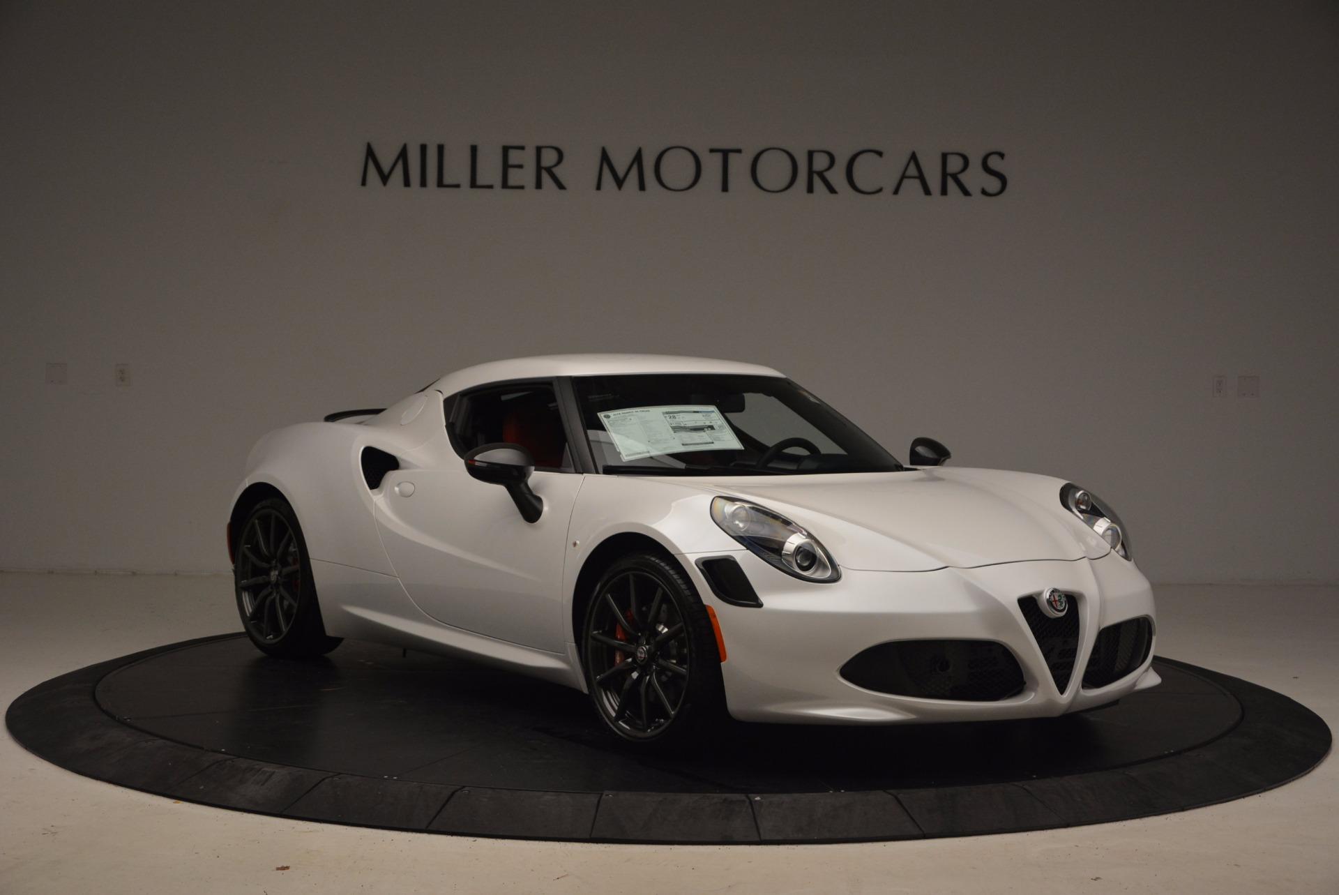 New 2018 Alfa Romeo 4C Coupe For Sale In Greenwich, CT. Alfa Romeo of Greenwich, L244 1633_p11