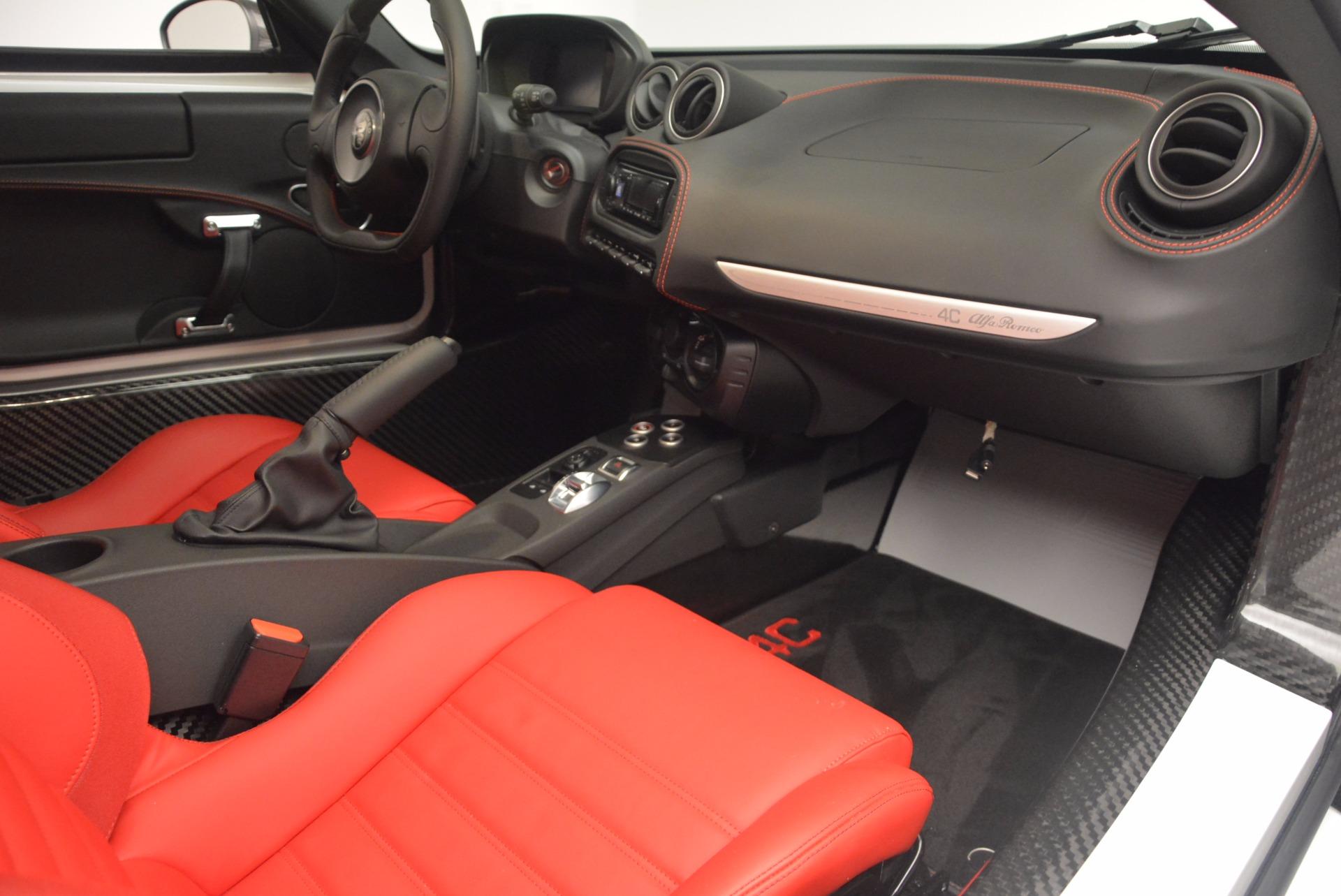 New 2018 Alfa Romeo 4C Coupe For Sale In Greenwich, CT. Alfa Romeo of Greenwich, L244 1633_p17